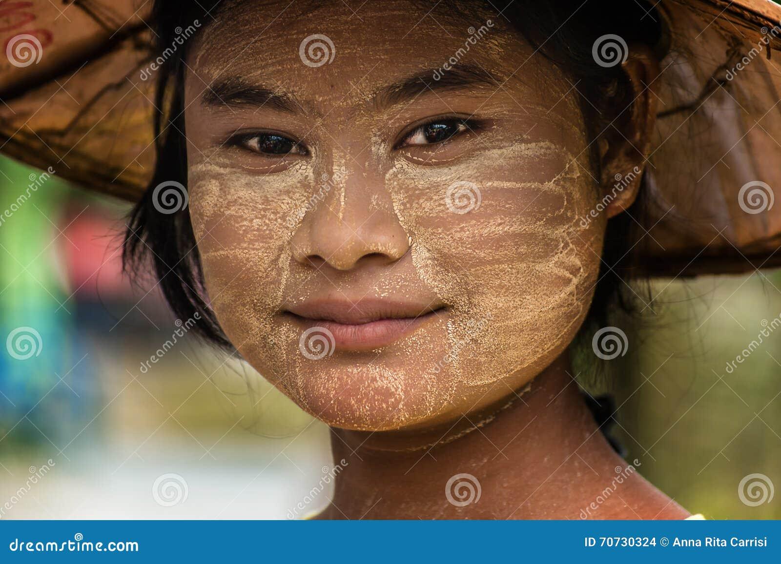 Burmese girl Myanmar