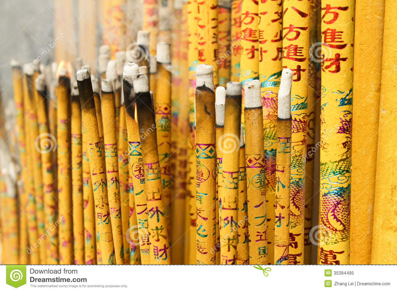 Burn incense stock image  Image of religious, bless