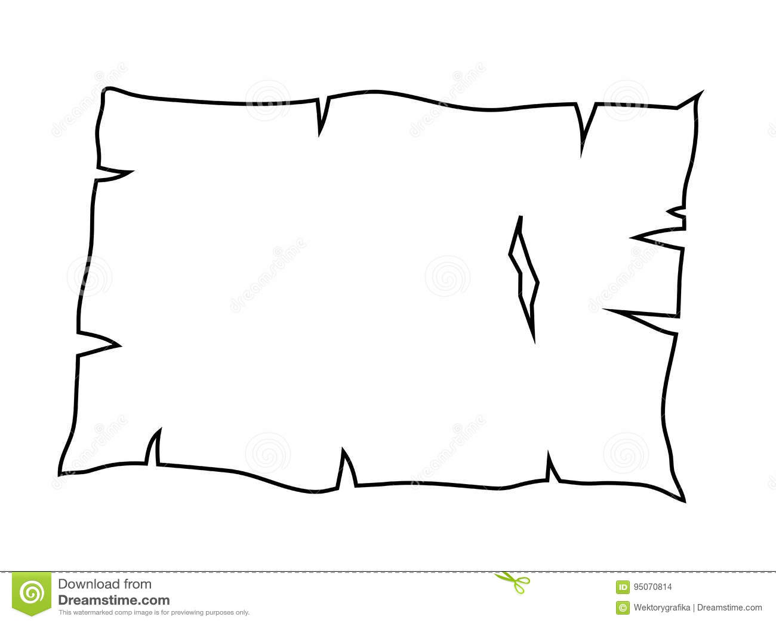 vector burned paper edges seamless horizontal pattern banners or dividers cartoon vector. Black Bedroom Furniture Sets. Home Design Ideas