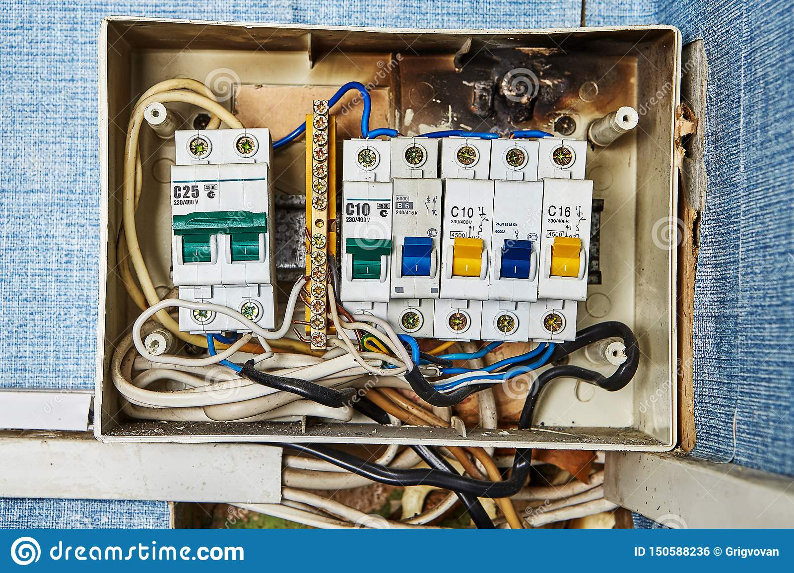 Home Fuse Box Parts | Wiring Diagram Old Main Fuse Box Parts Holder on