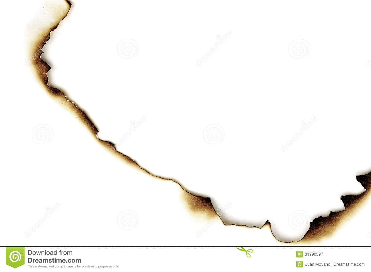 Burned Paper Royalty Free Stock Photography Image 31990597