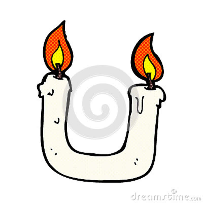 burning the candle at both ends comic cartoon