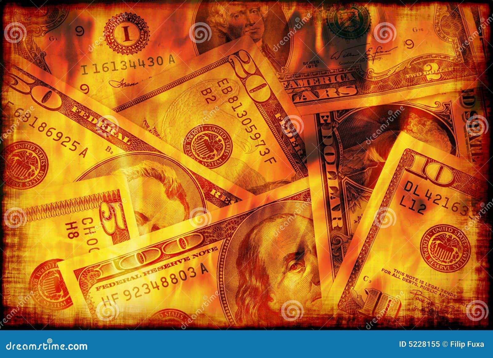 Burning d argent des USA