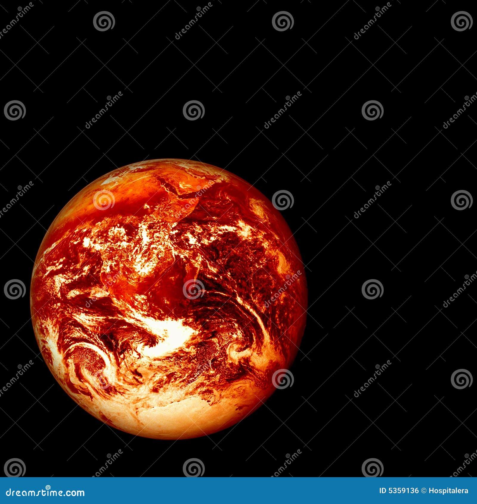 Burning Earth Royalty Free Stock Image - Image: 5359136