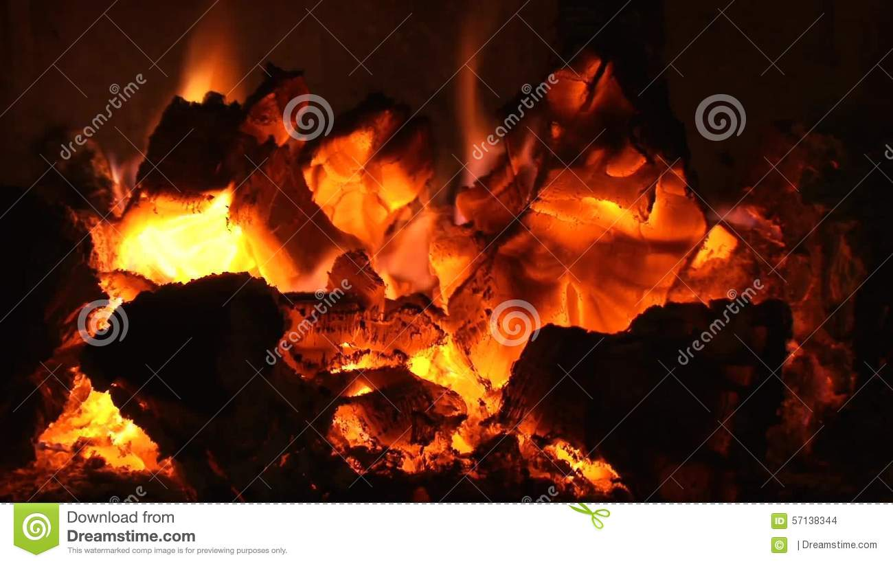 Burning Embers Fireplace Video Stock Footage Video Of Flames Warming 57138344