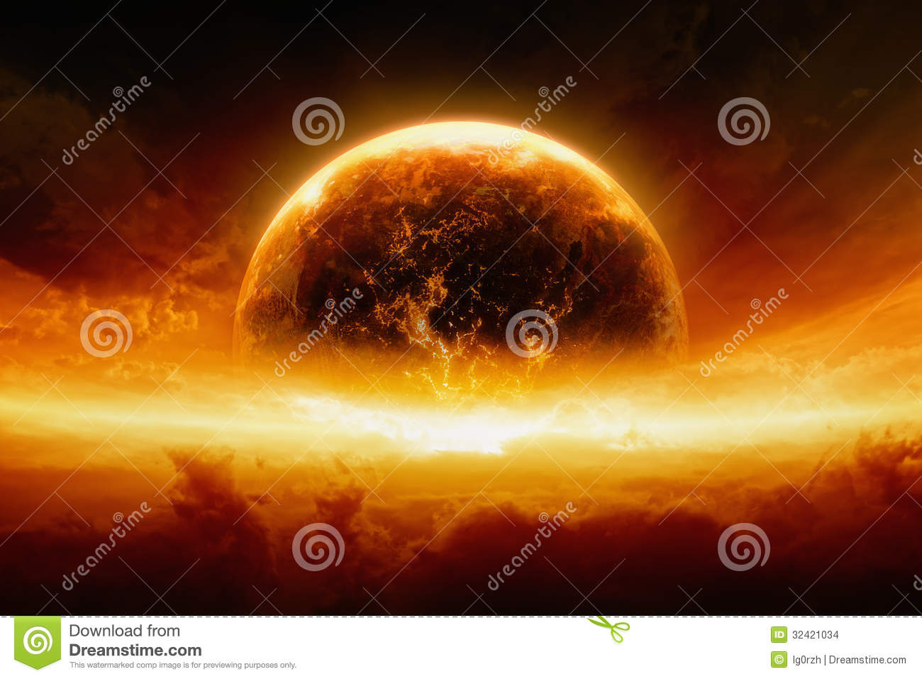 burning and exploding planet earth stock images