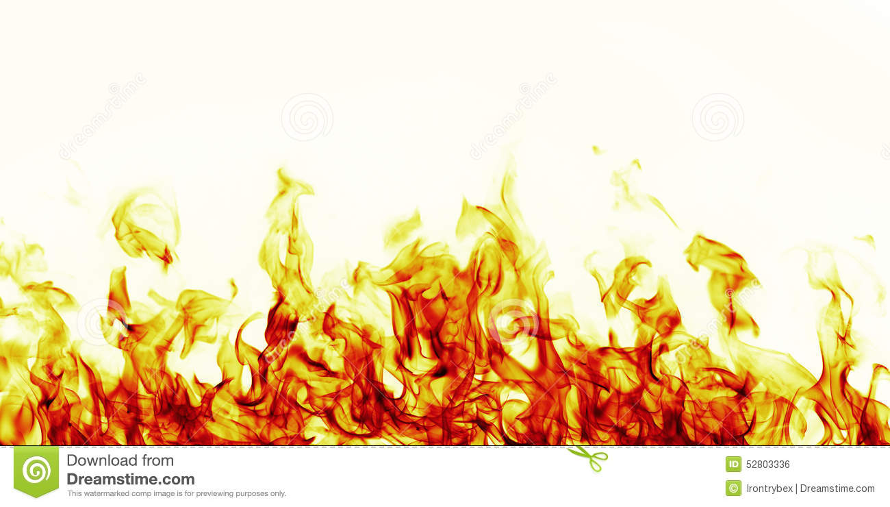 Adesivo Pastilha Azulejo Cozinha ~ Burning Fire Flame On White Background Stock Illustration Image 52803336