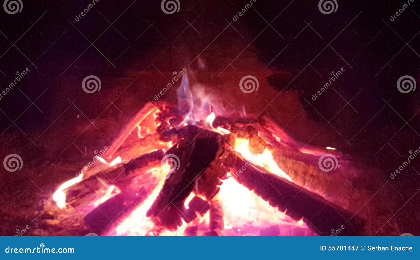 burning fireplace stock video video 55701447