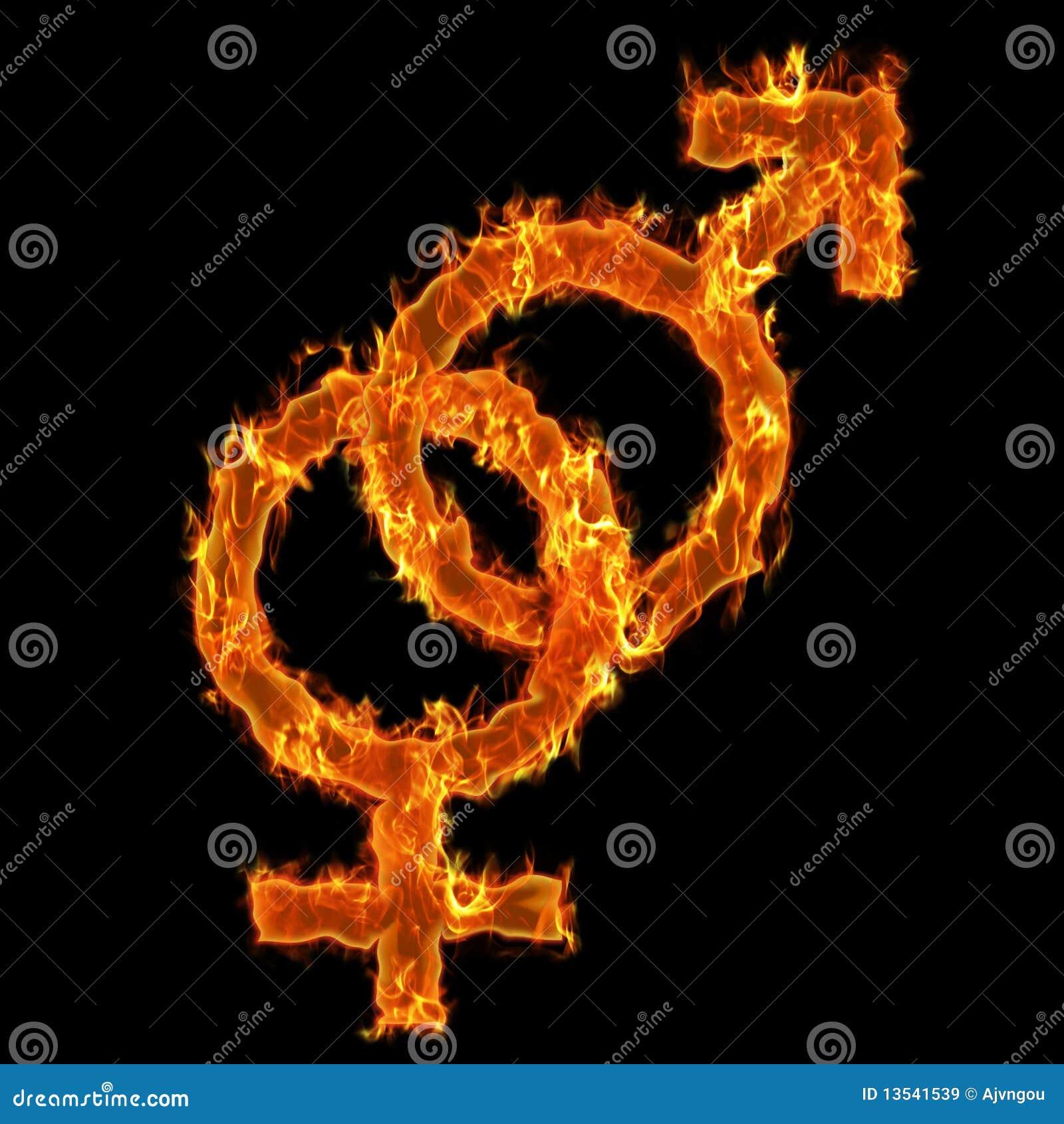 burning man symbol