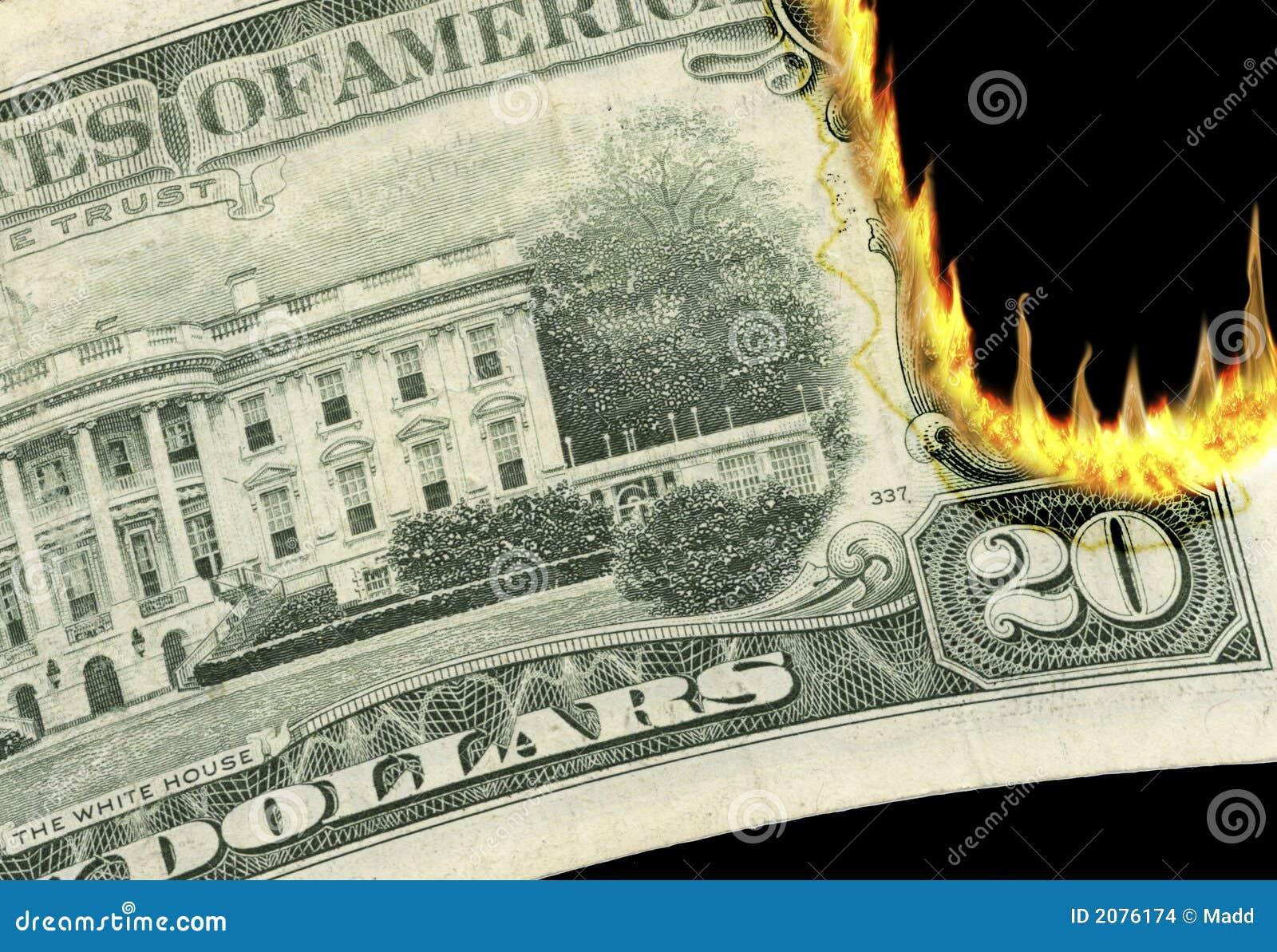 Burning Money!