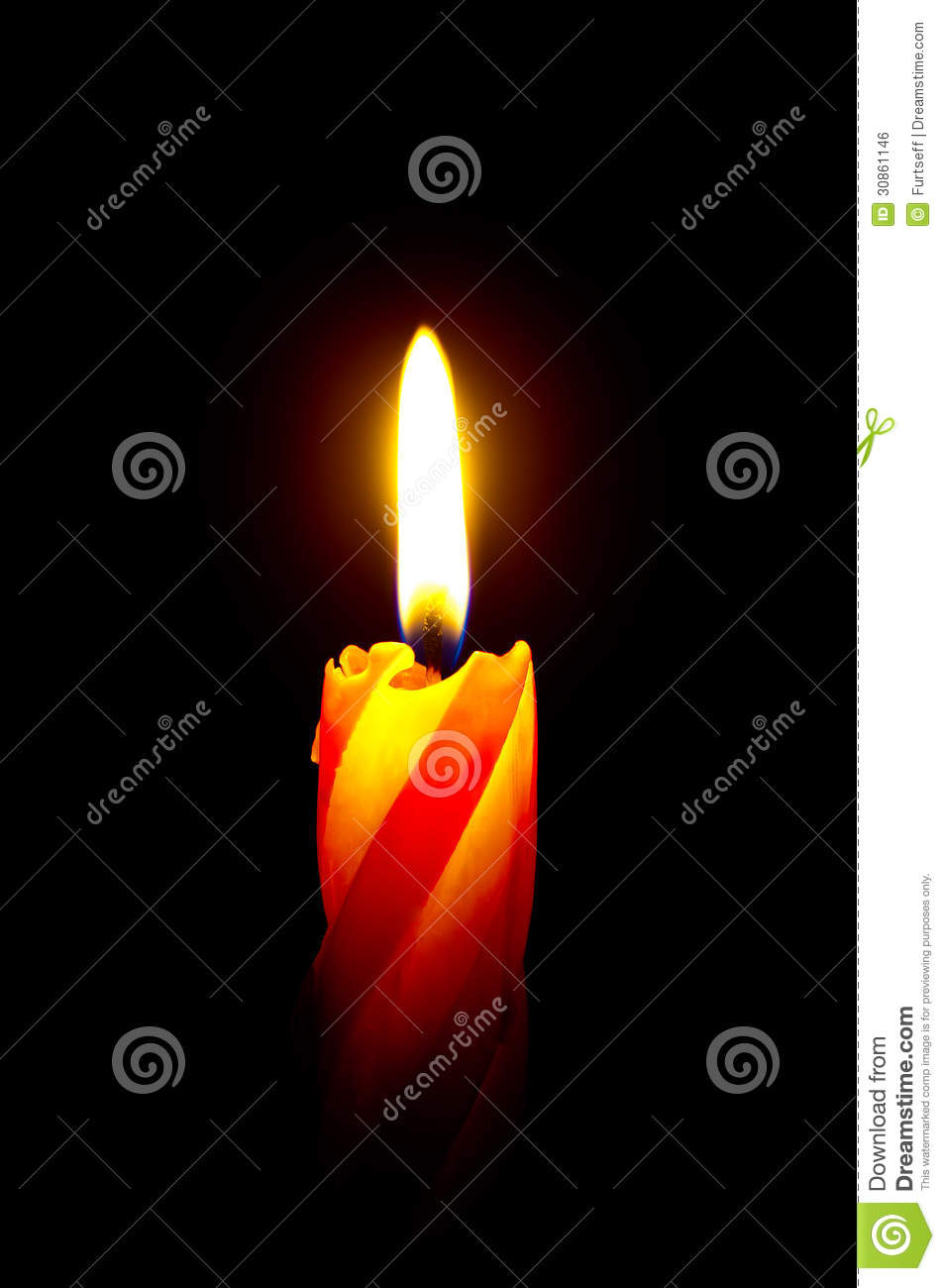 red candle black background - photo #49