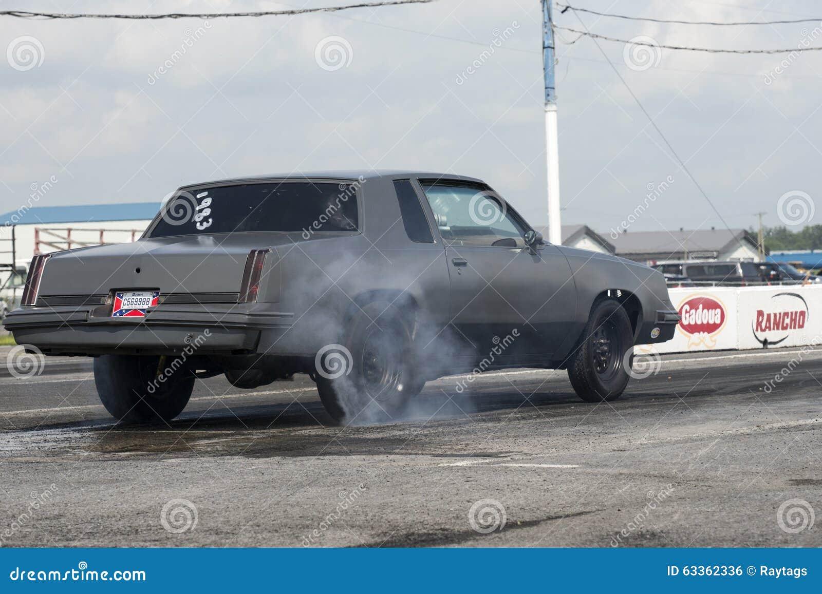 Burnout dell automobile