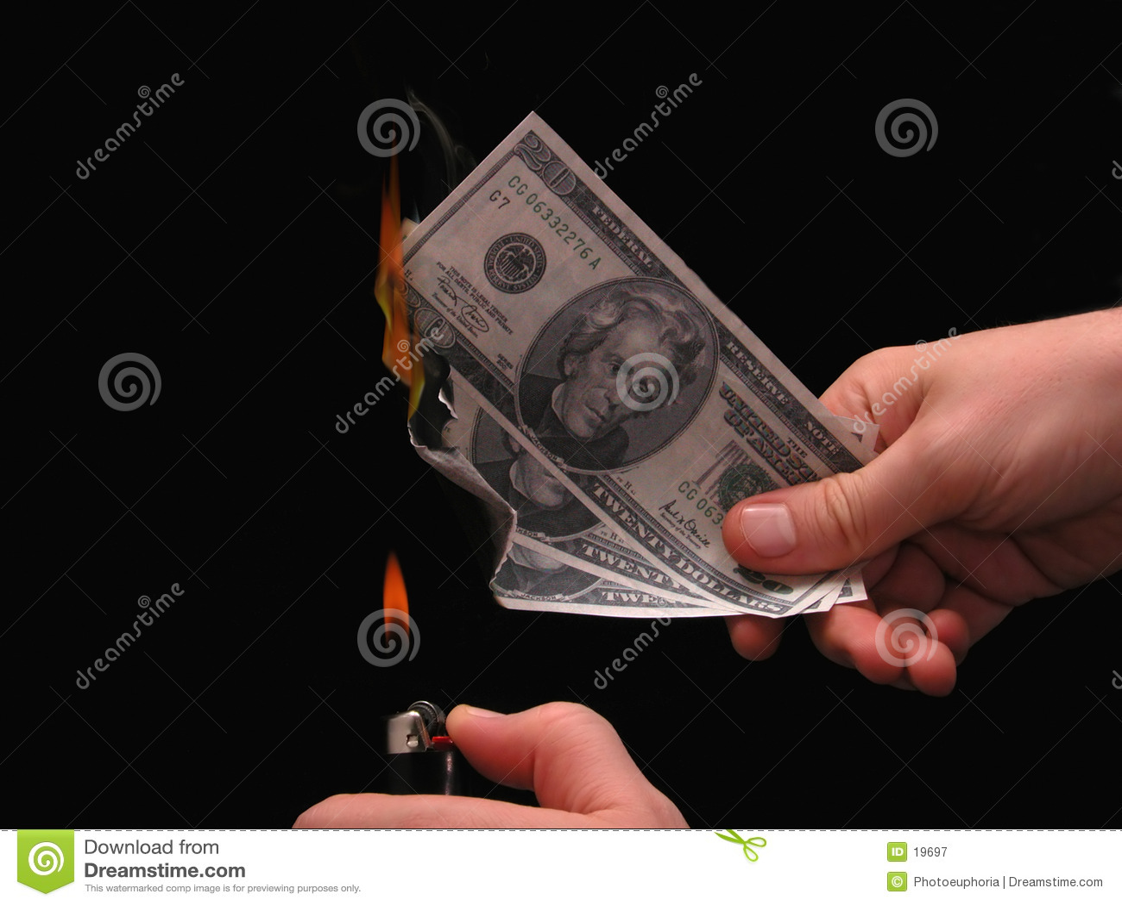 Burns metafory pieniądze