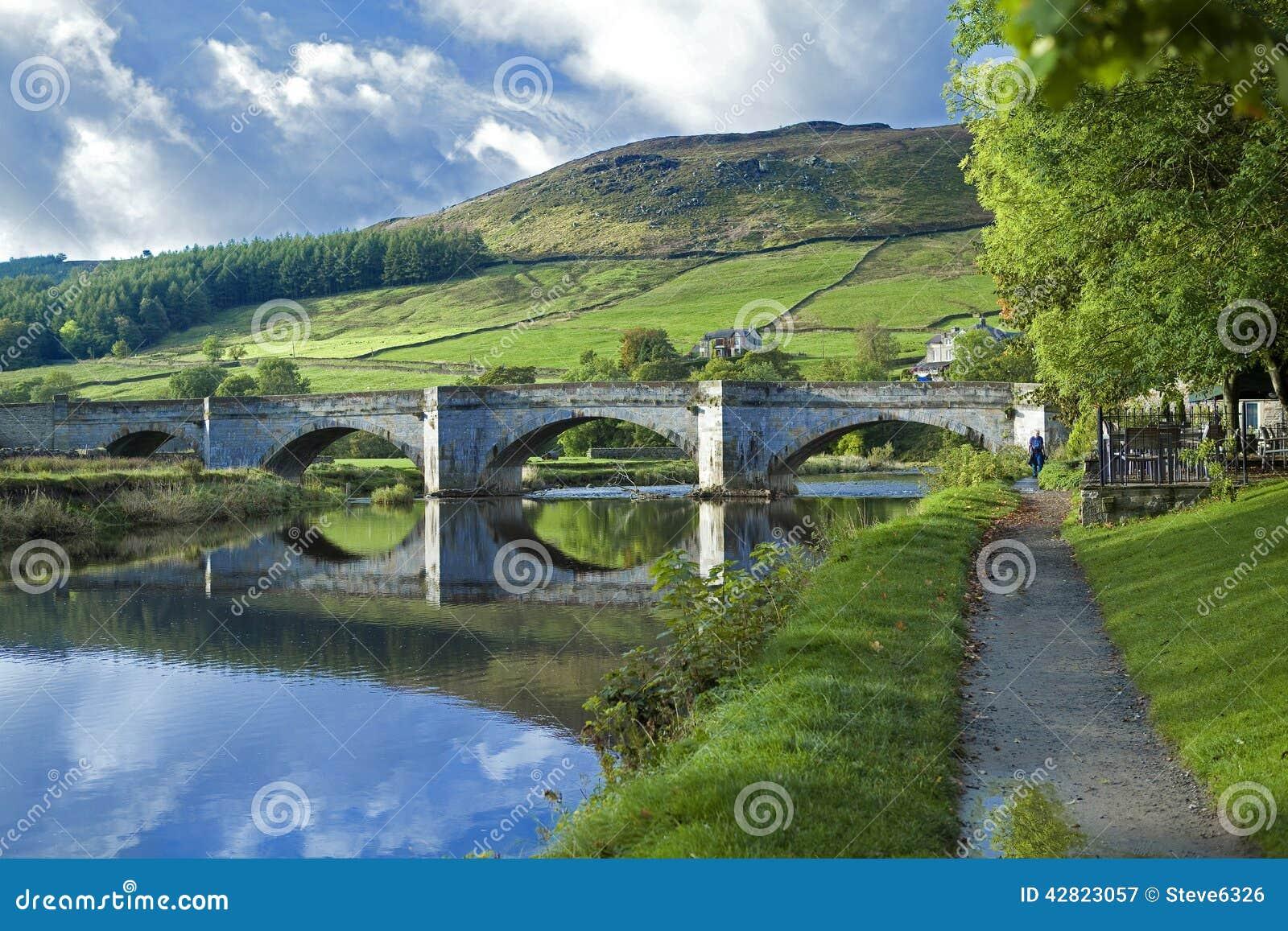Burnsall y el río Wharfe