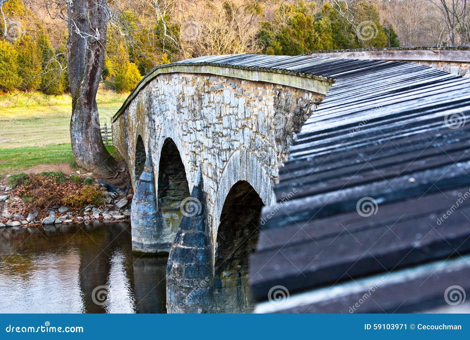 Burnside桥梁-浅景深