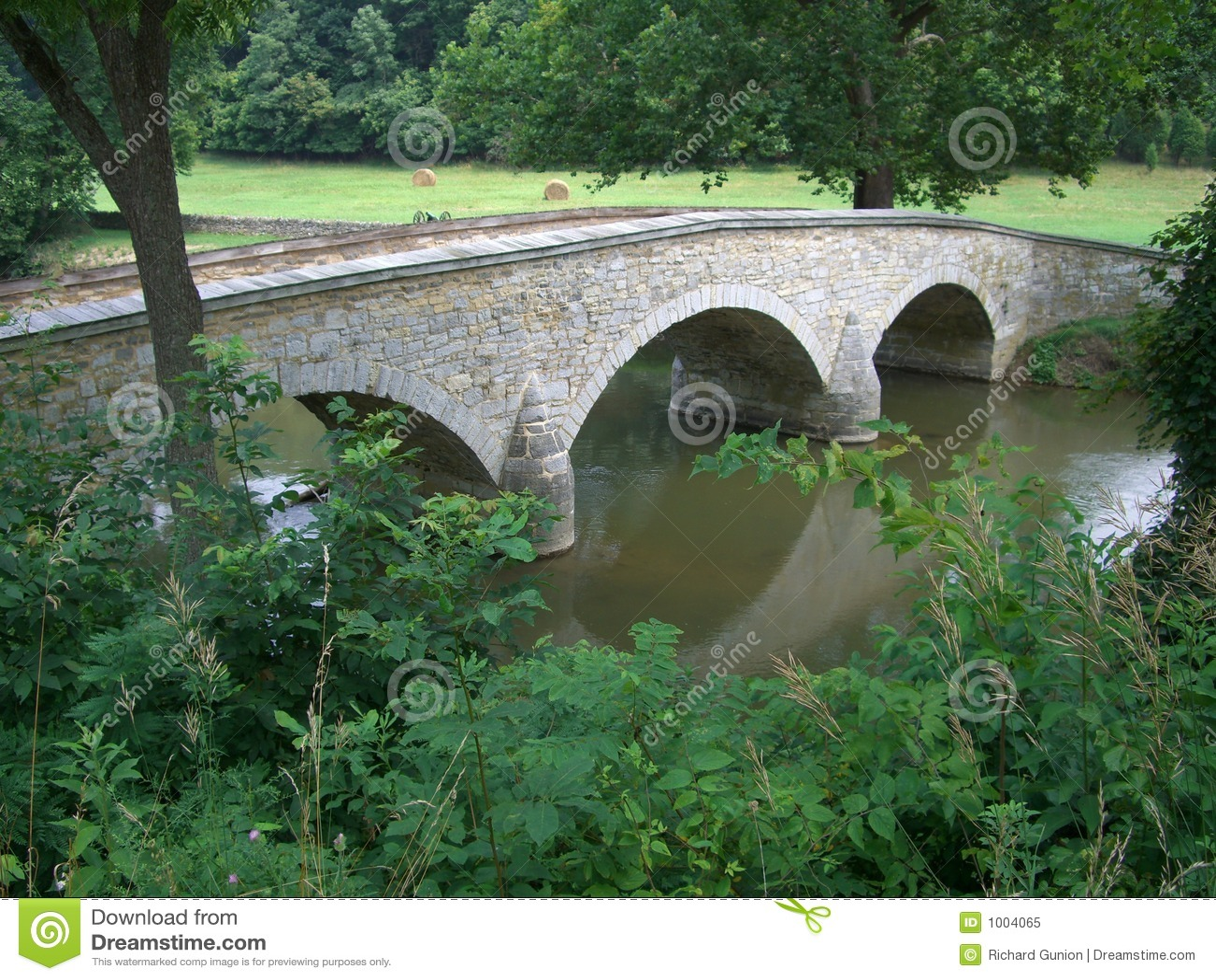 Burnside pominięto mostu