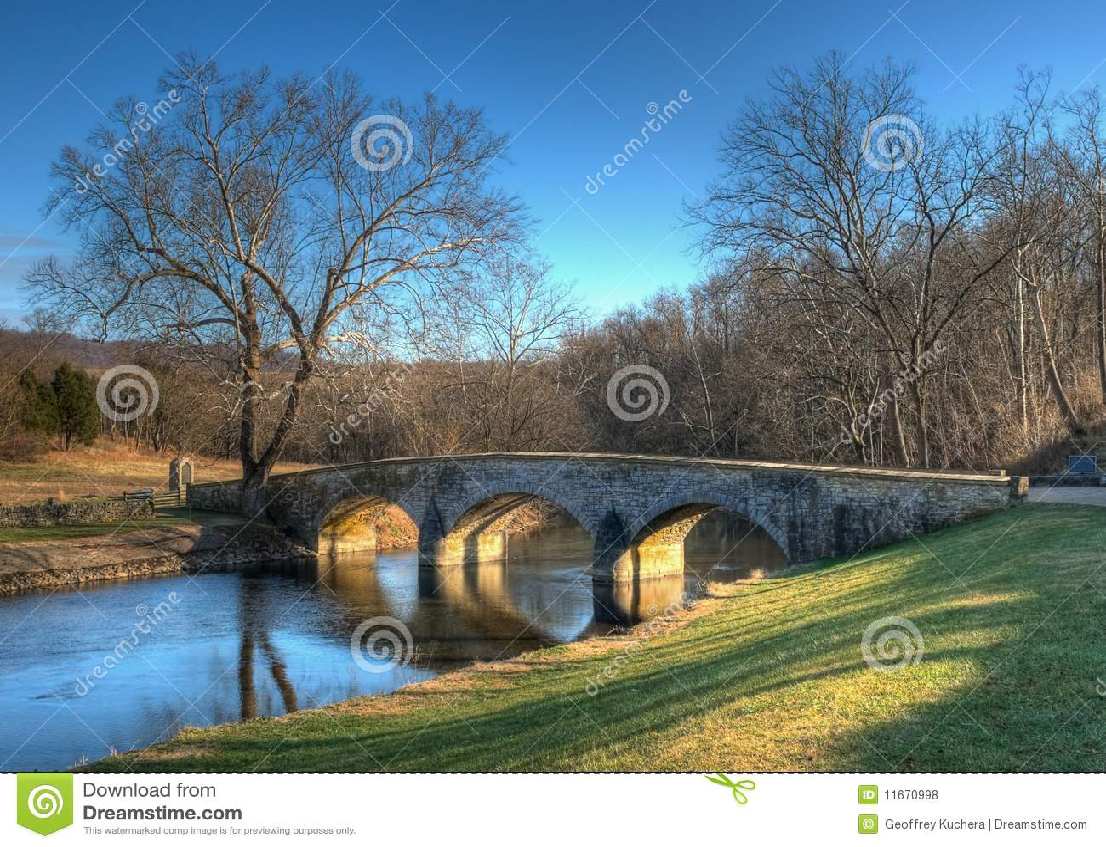 Burnside s Bridge in Sharpsburg, Maryland