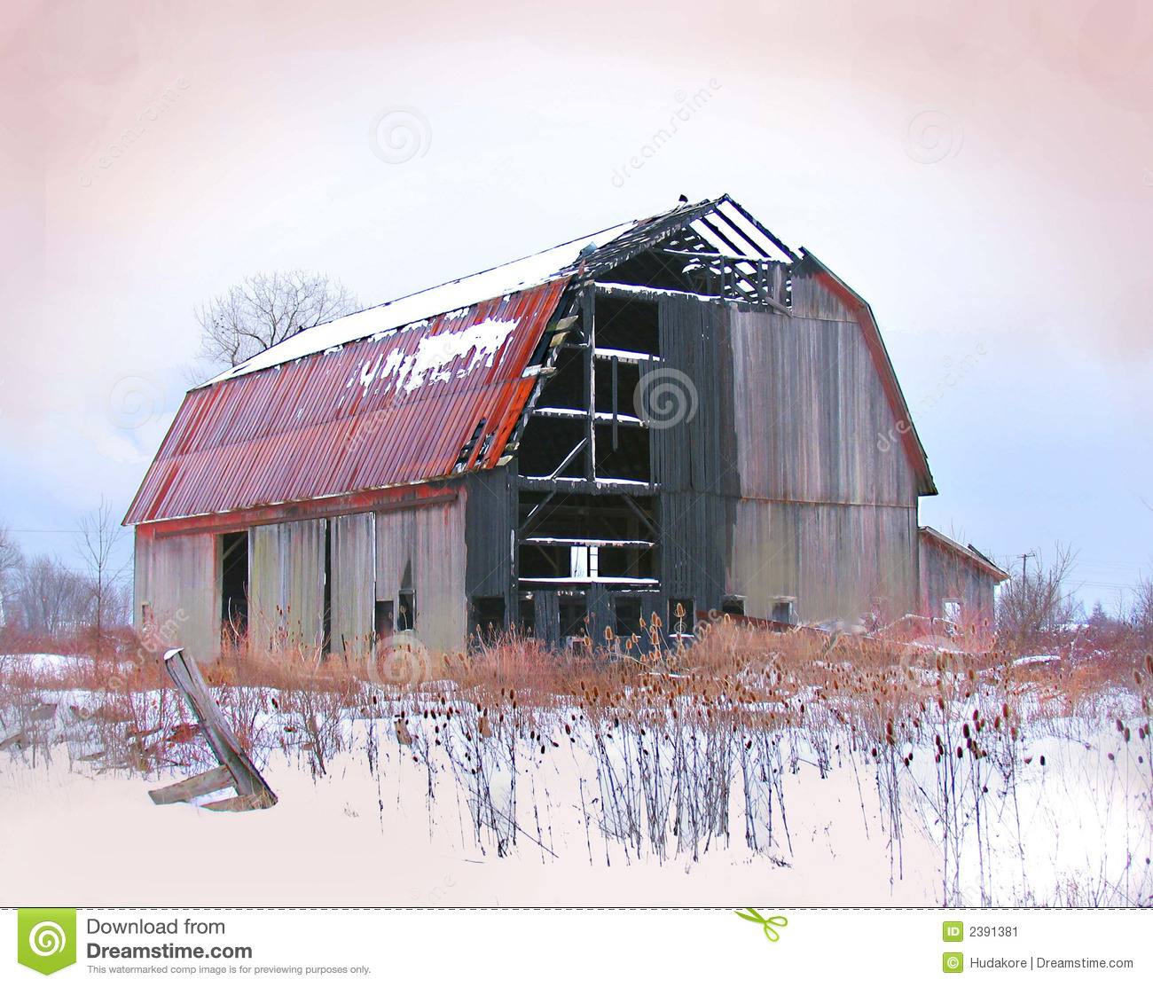 Burnt-Out Barn