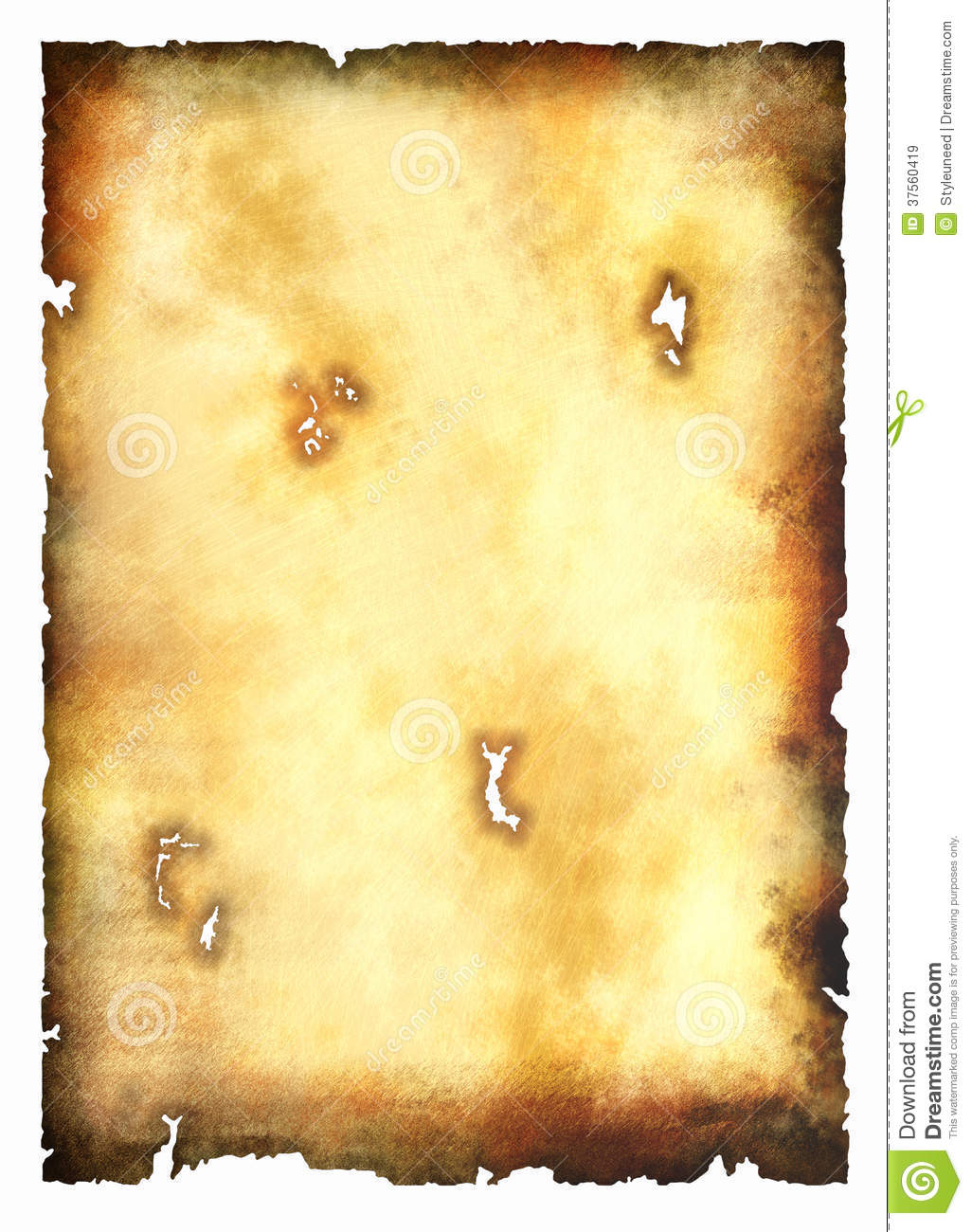 Burnt Parchment Paper Royalty Free Stock Images - Image ...