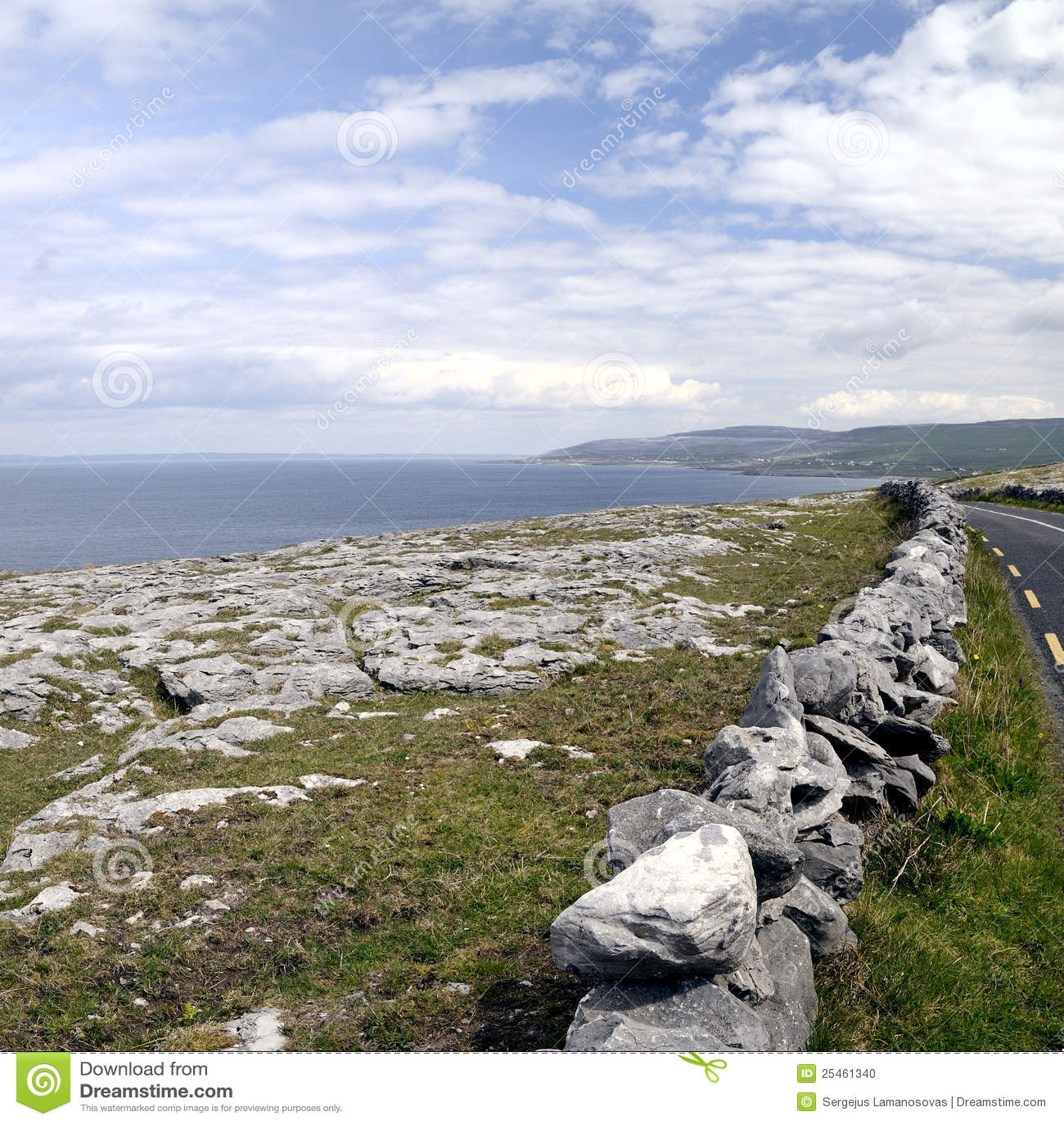 The Burren near Derreen, West Eire