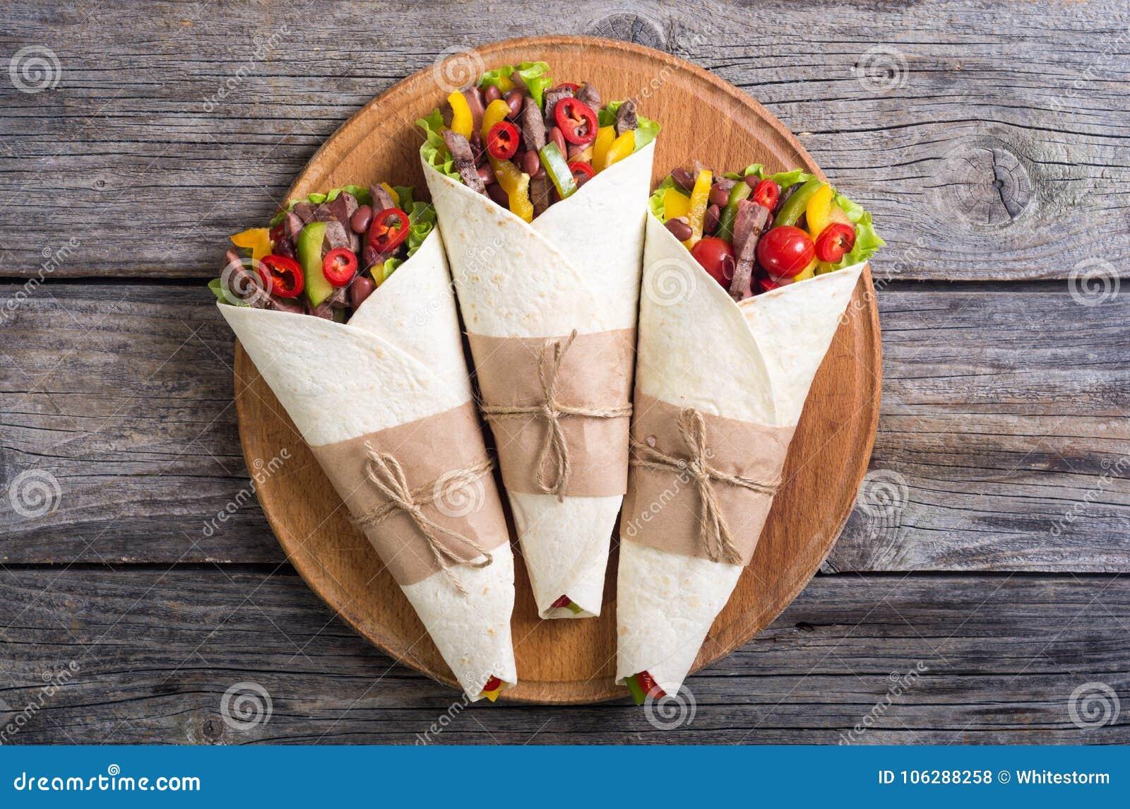 Burrito με το βόειο κρέας