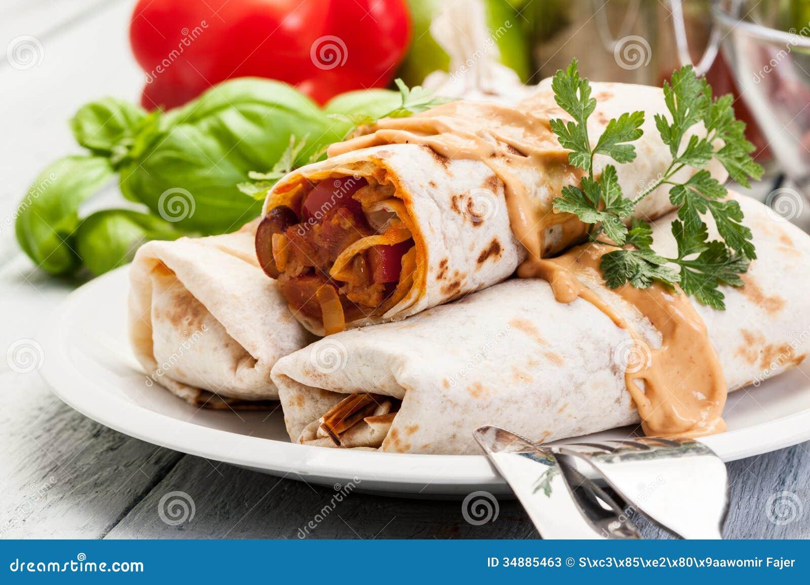 Burritos Mexicanos Fot...