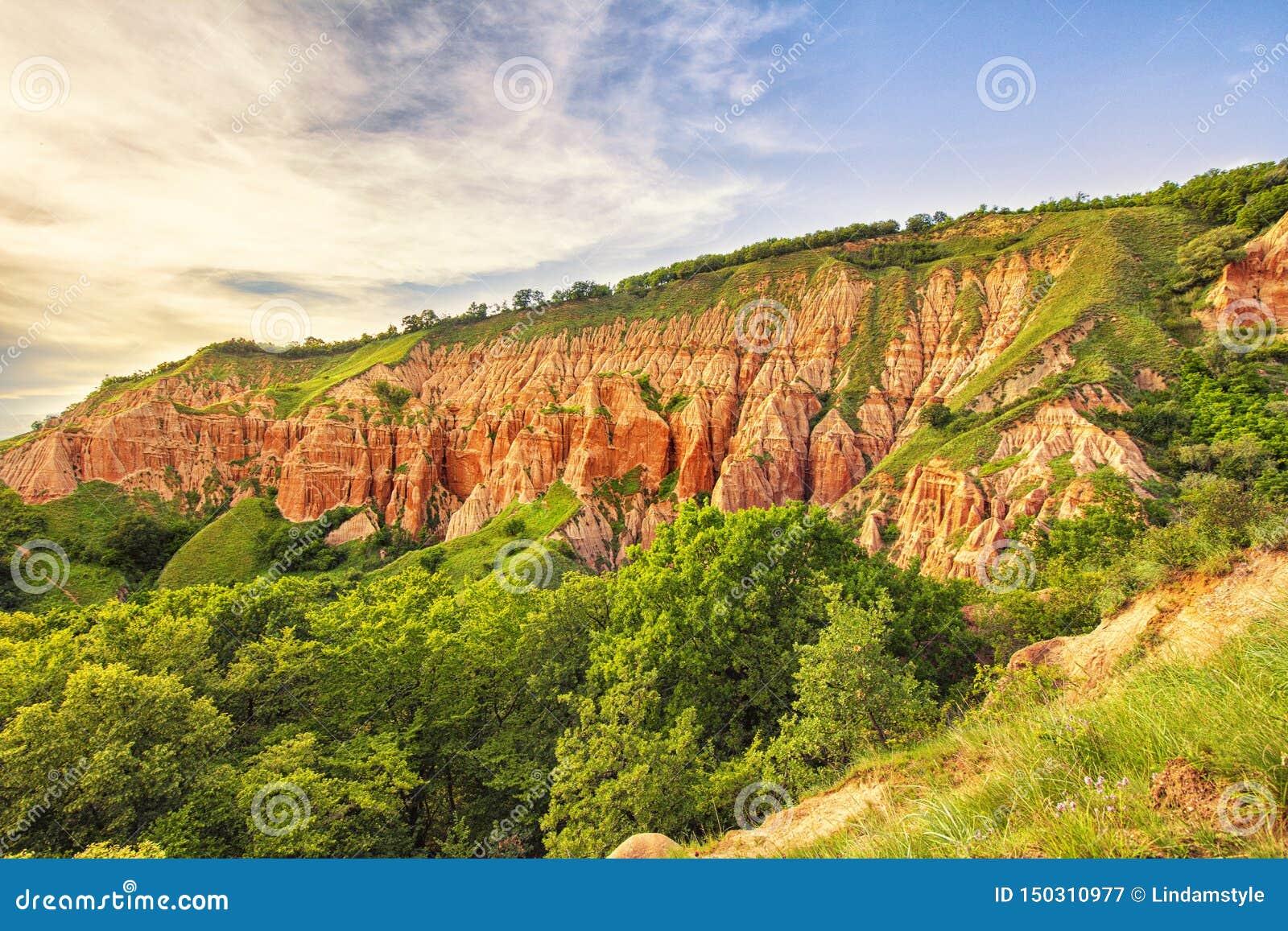 Burrone rosso - Rapa Rosie - Romania, Alba Iulia
