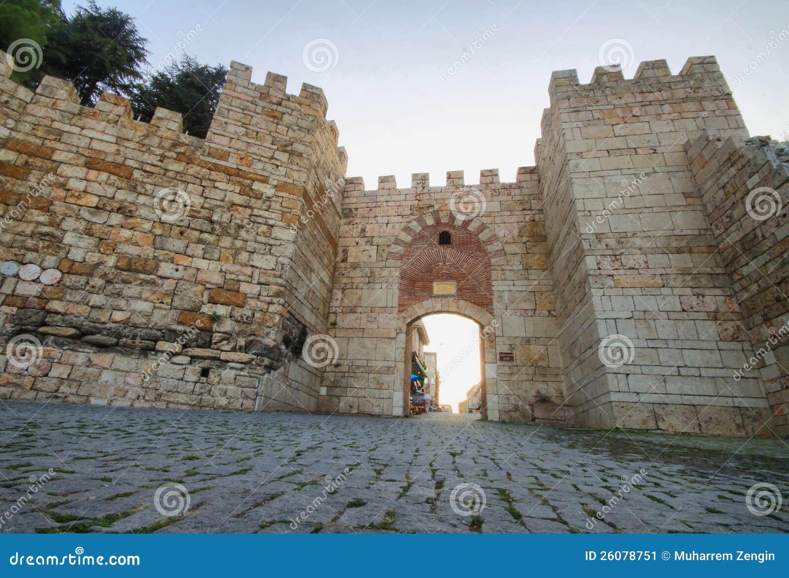 Bursa Citywalls Stock Image - Image: 26078751