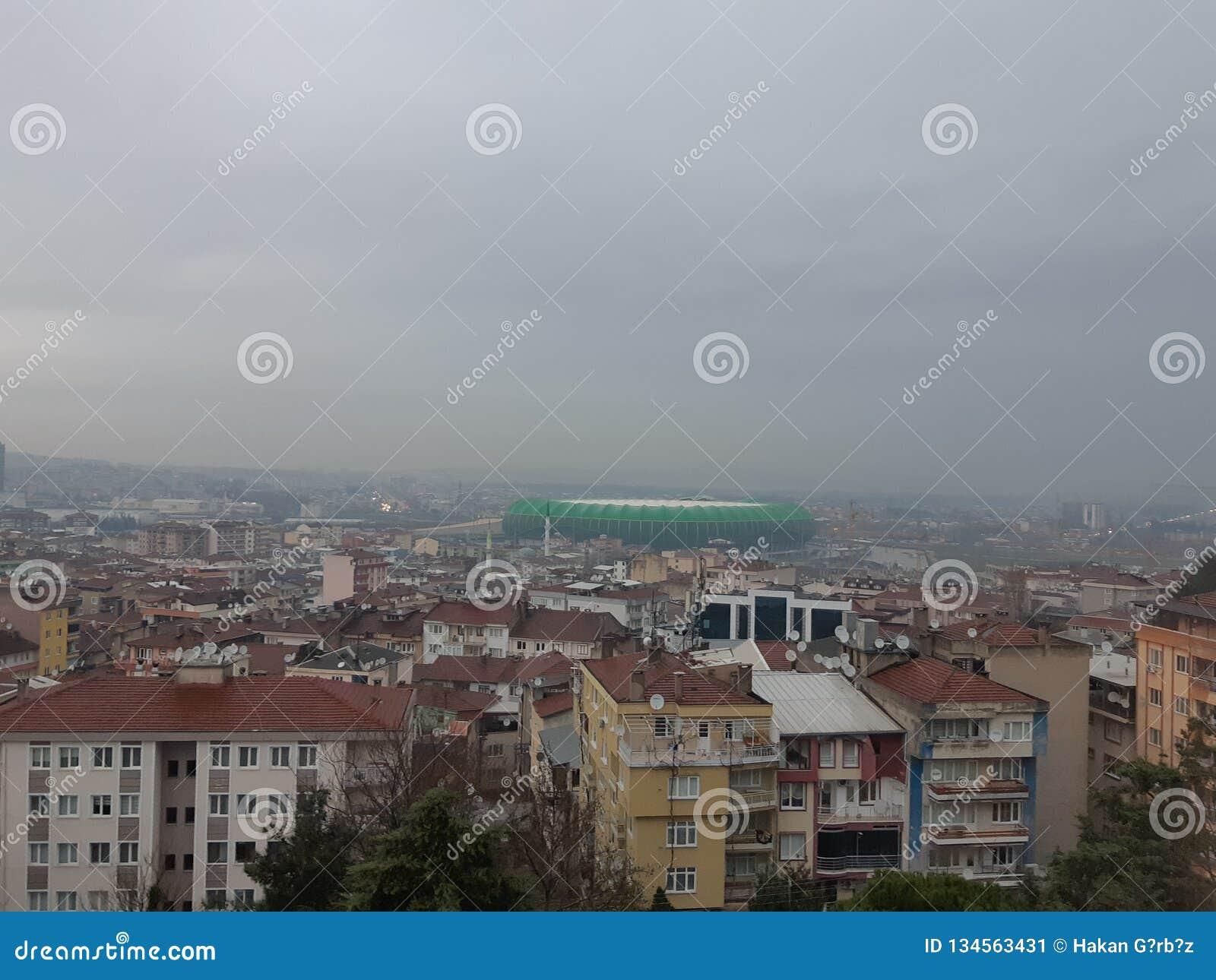 Bursaspor klubu sportowego areny Timsah arena