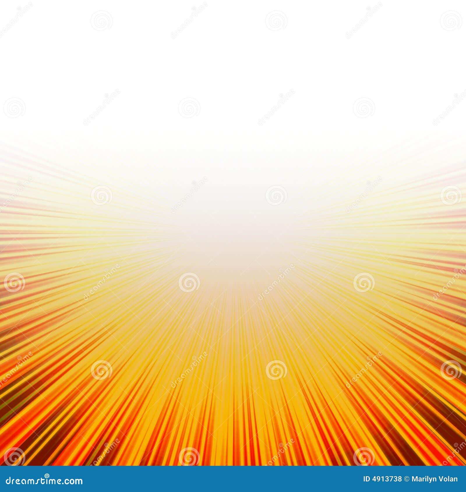 Burst caldo pieno di sole