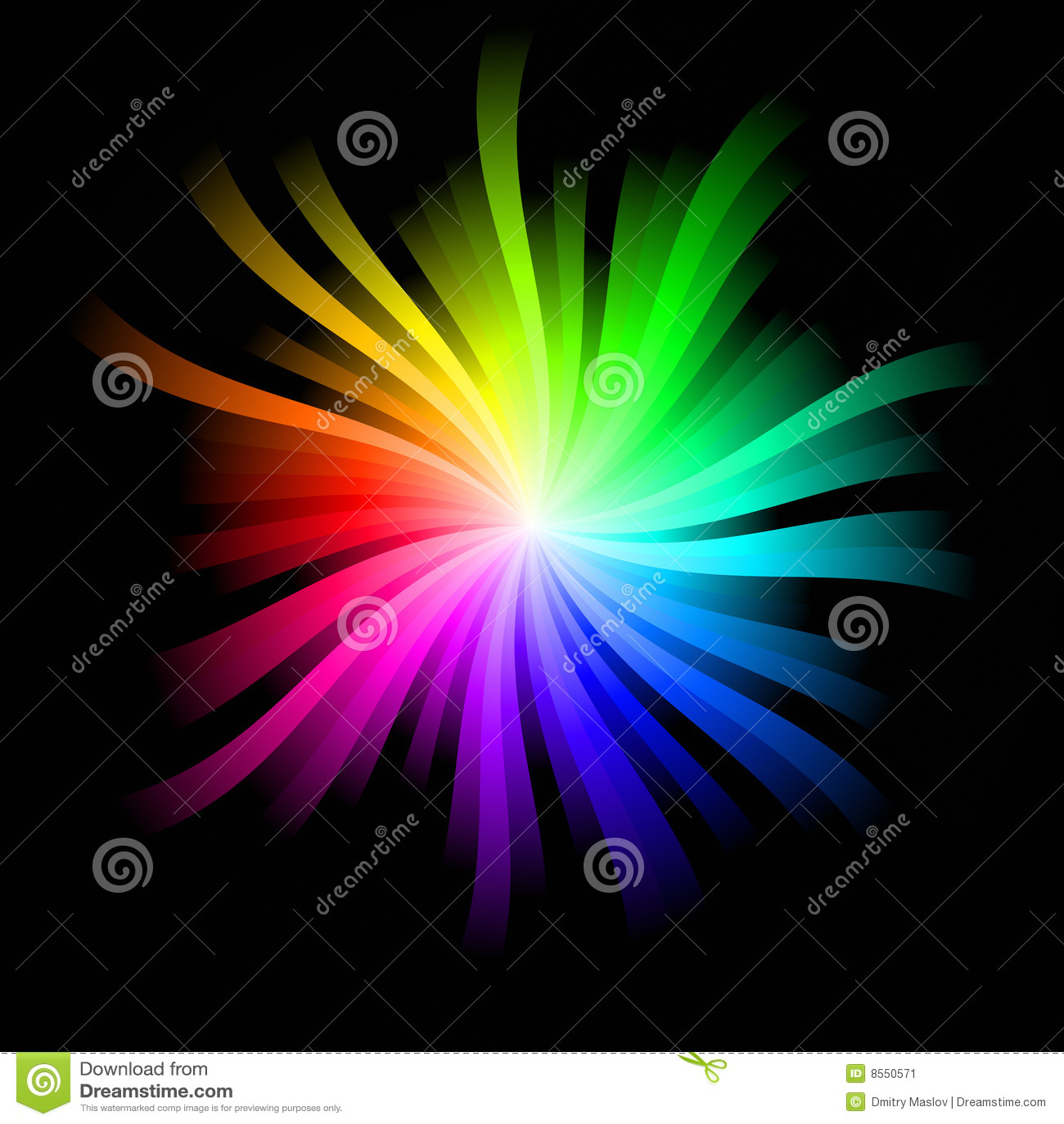 Burst del Rainbow