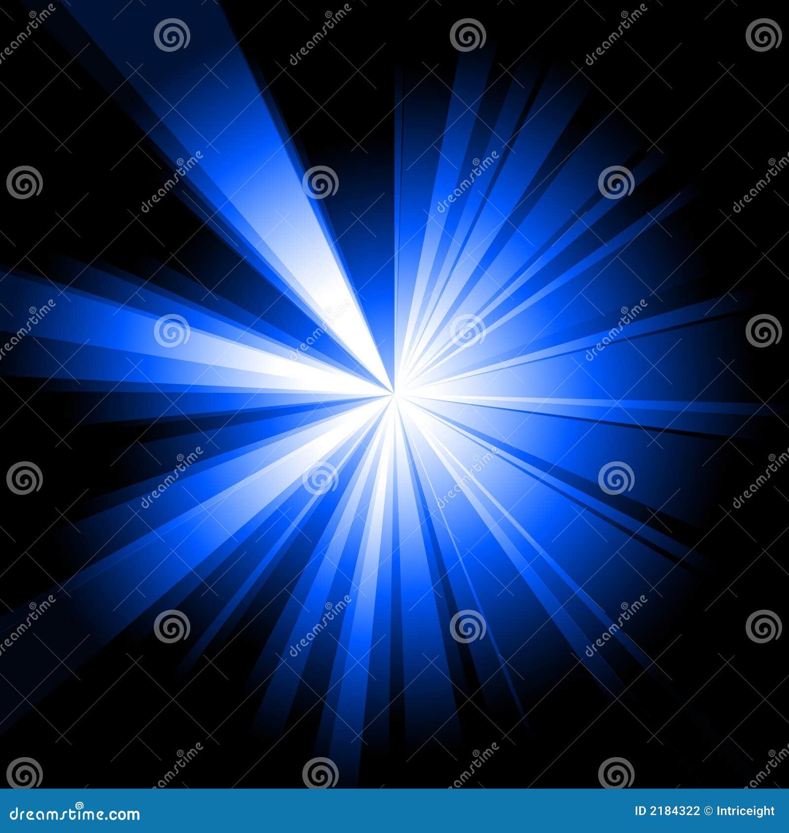 Burst dell azzurro