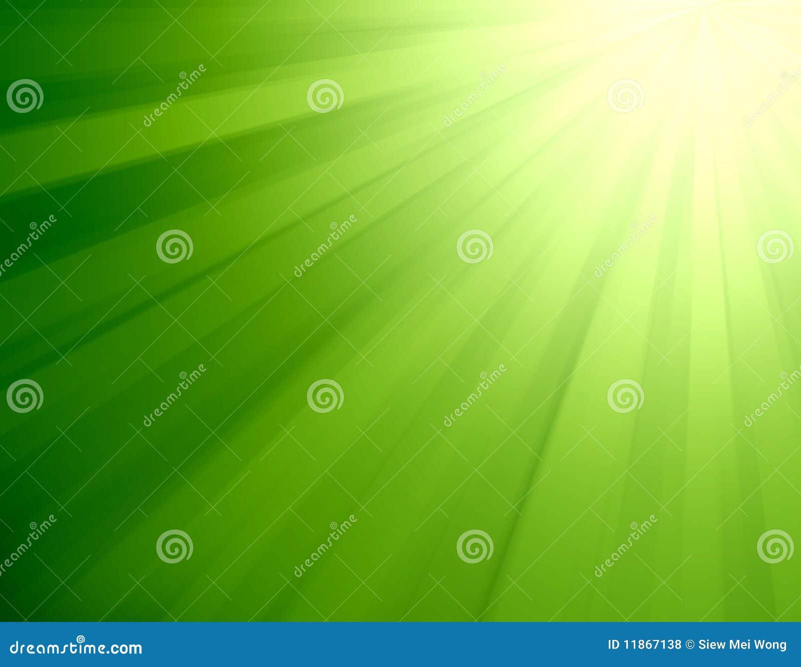 Burst dell indicatore luminoso verde