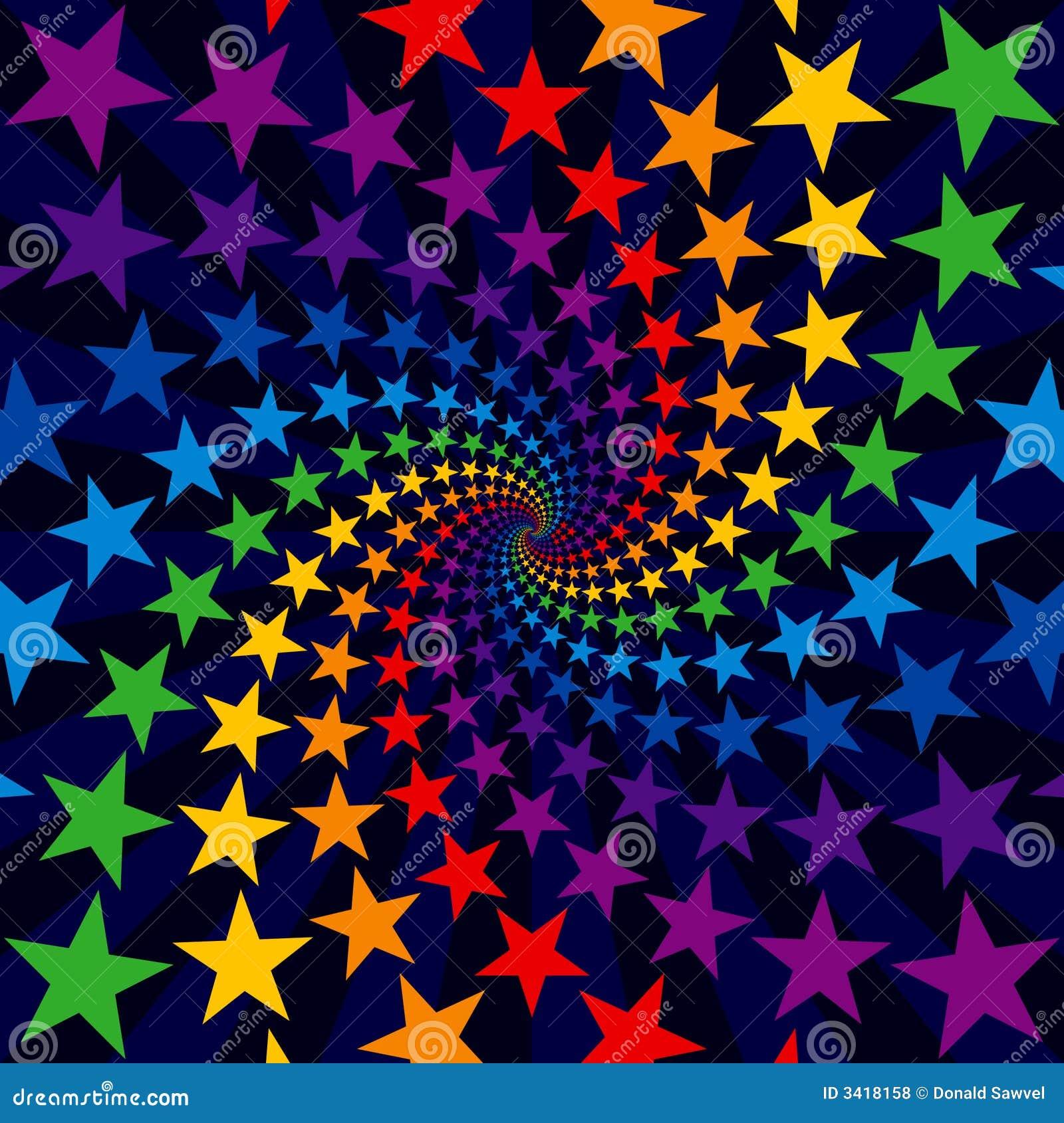 Burst di turbinio della stella