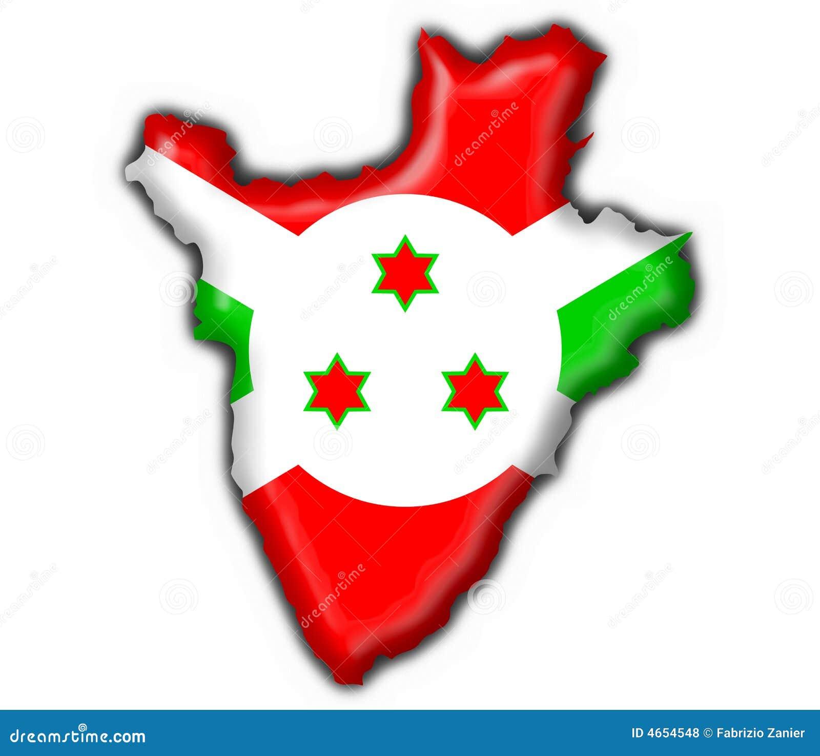 Flag Of Burundi Africa
