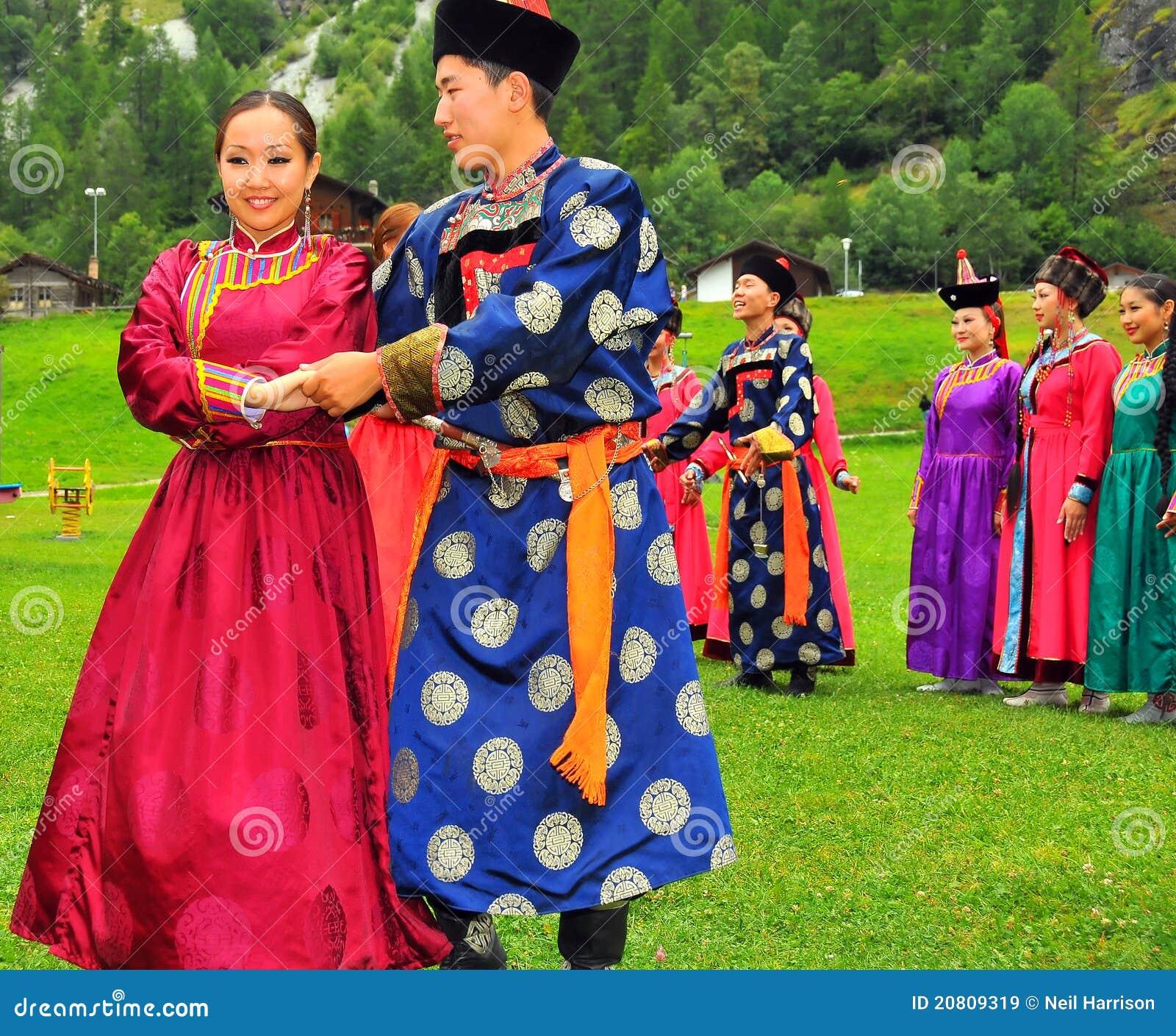 Buryat Tanz-Gruppe