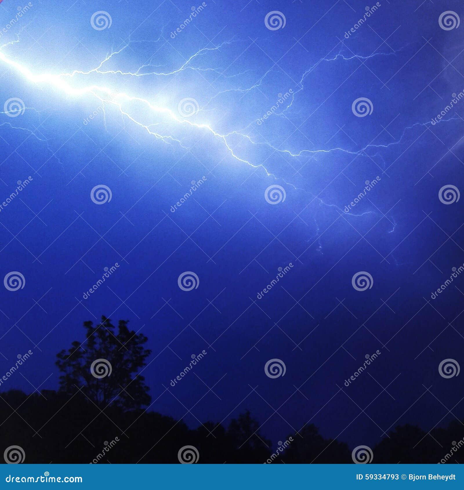 Burza i błyskawica