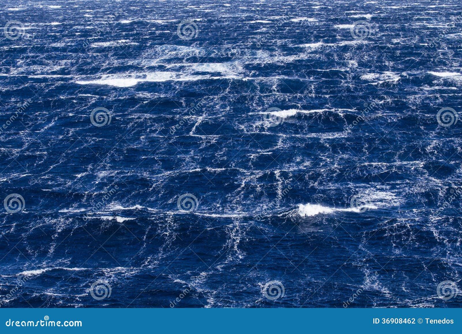 Burzowy morze