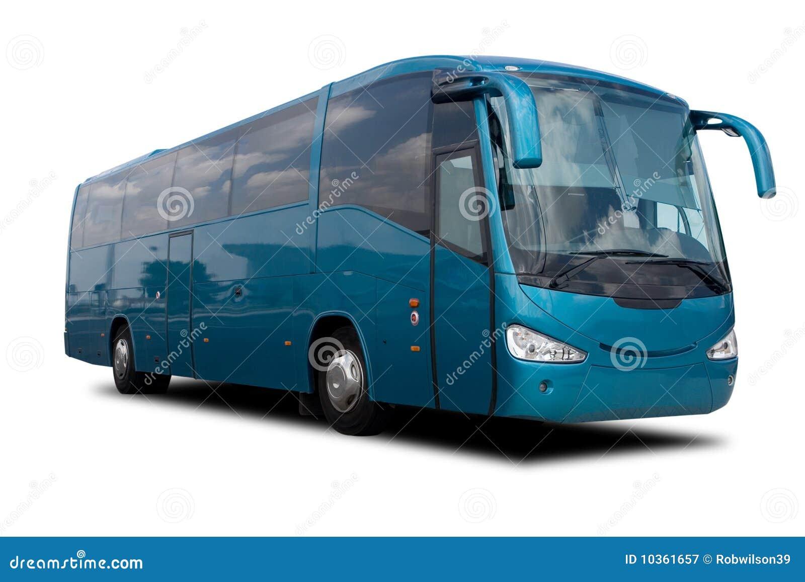 Bus di giro blu del Aqua
