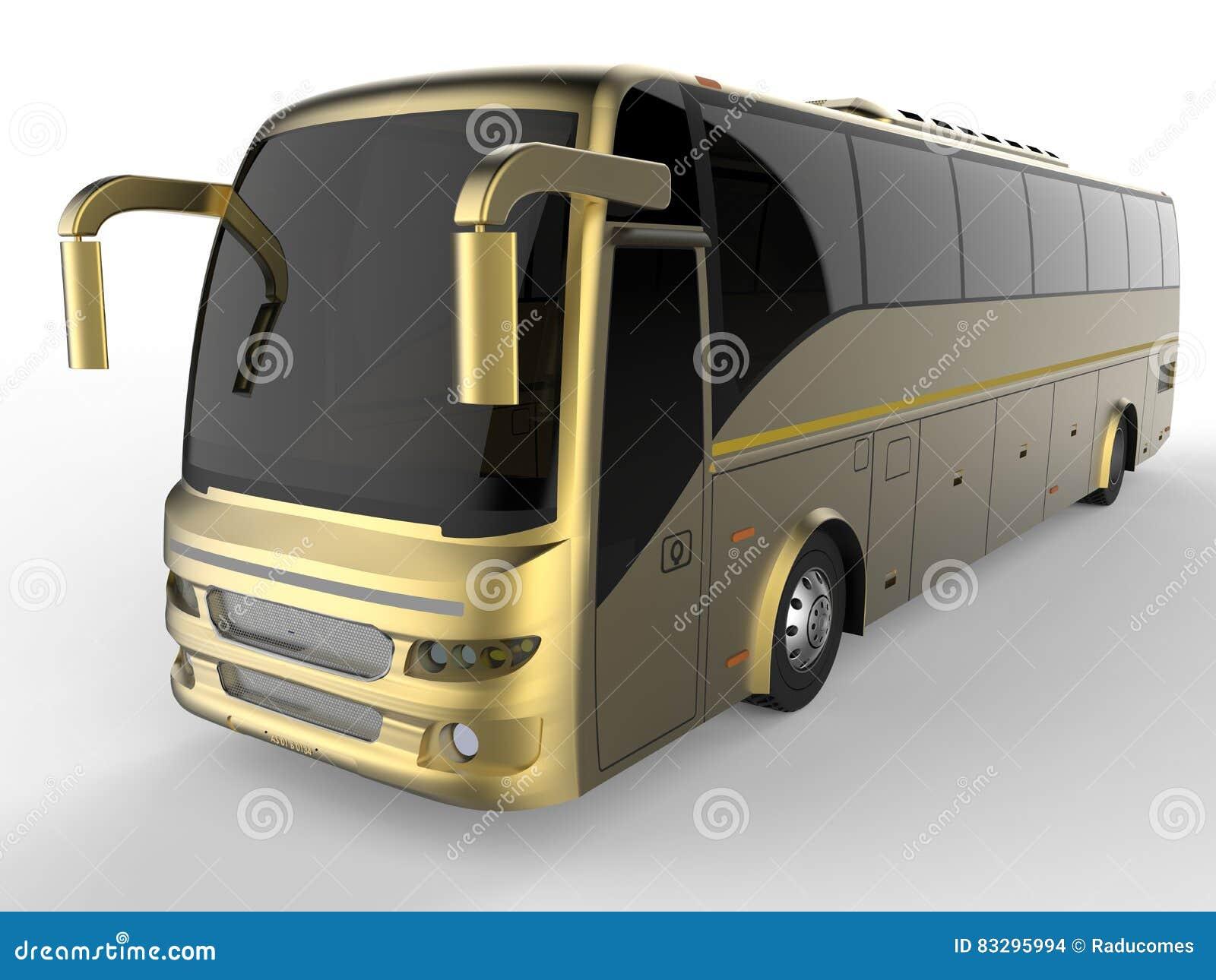 Bus di giro dorato