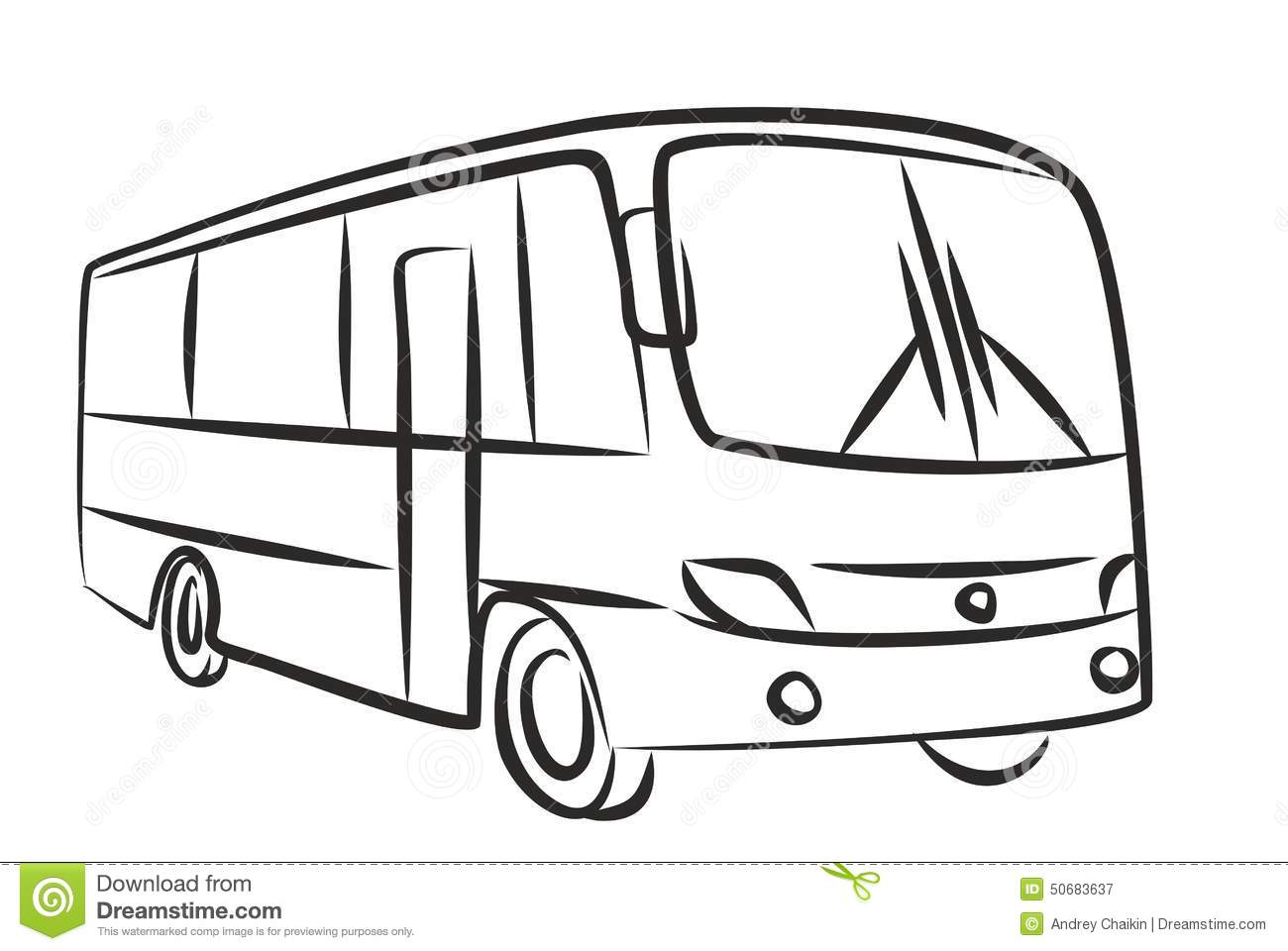 Bus Stock Vector - Image: 50683637