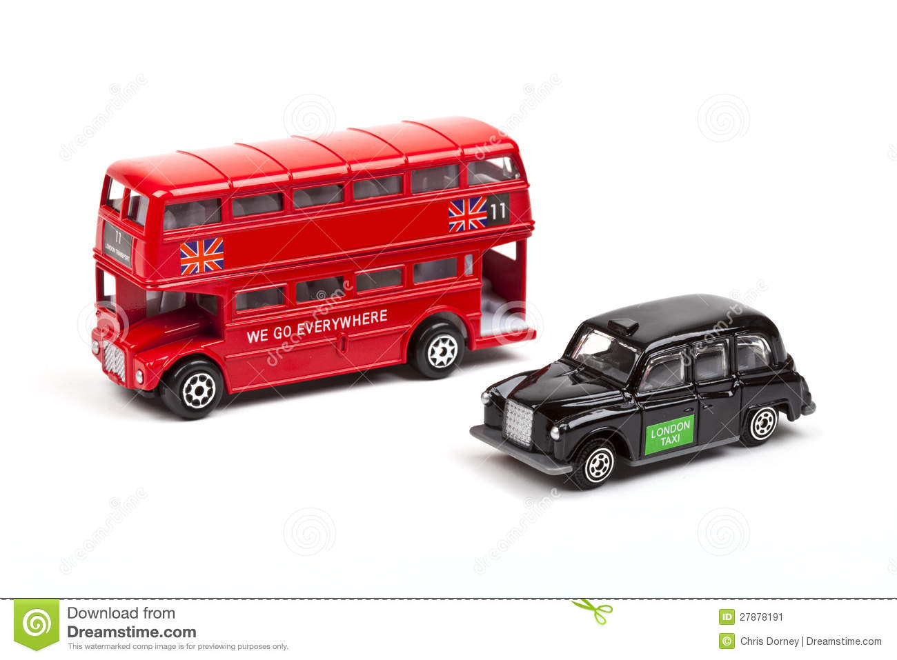 bus et taxi rouges de londres image stock image 27878191. Black Bedroom Furniture Sets. Home Design Ideas