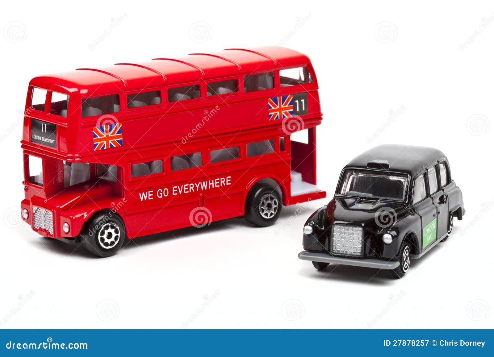 bus et taxi rouges de londres photographie stock libre de droits image 27878257. Black Bedroom Furniture Sets. Home Design Ideas
