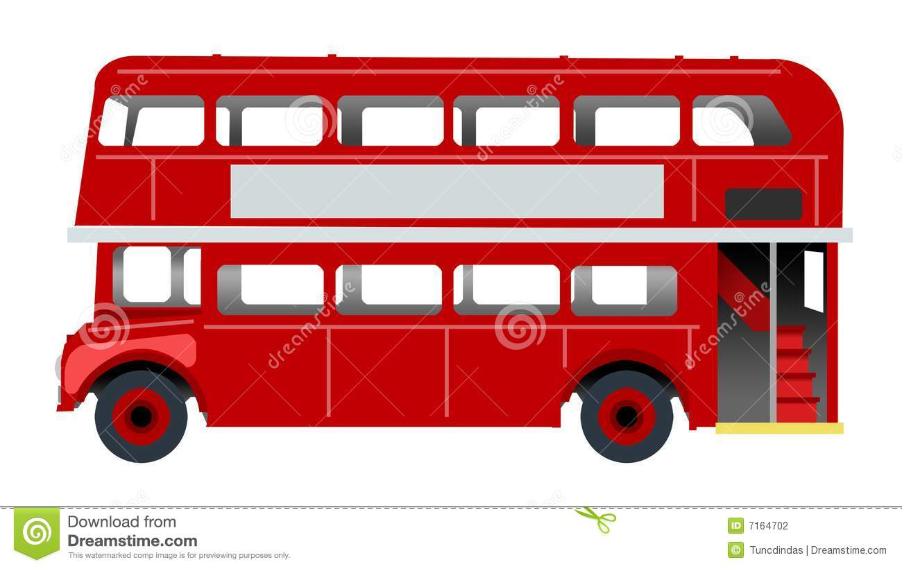 Bus londres illustration stock illustration du royaume - Dessin bus anglais ...