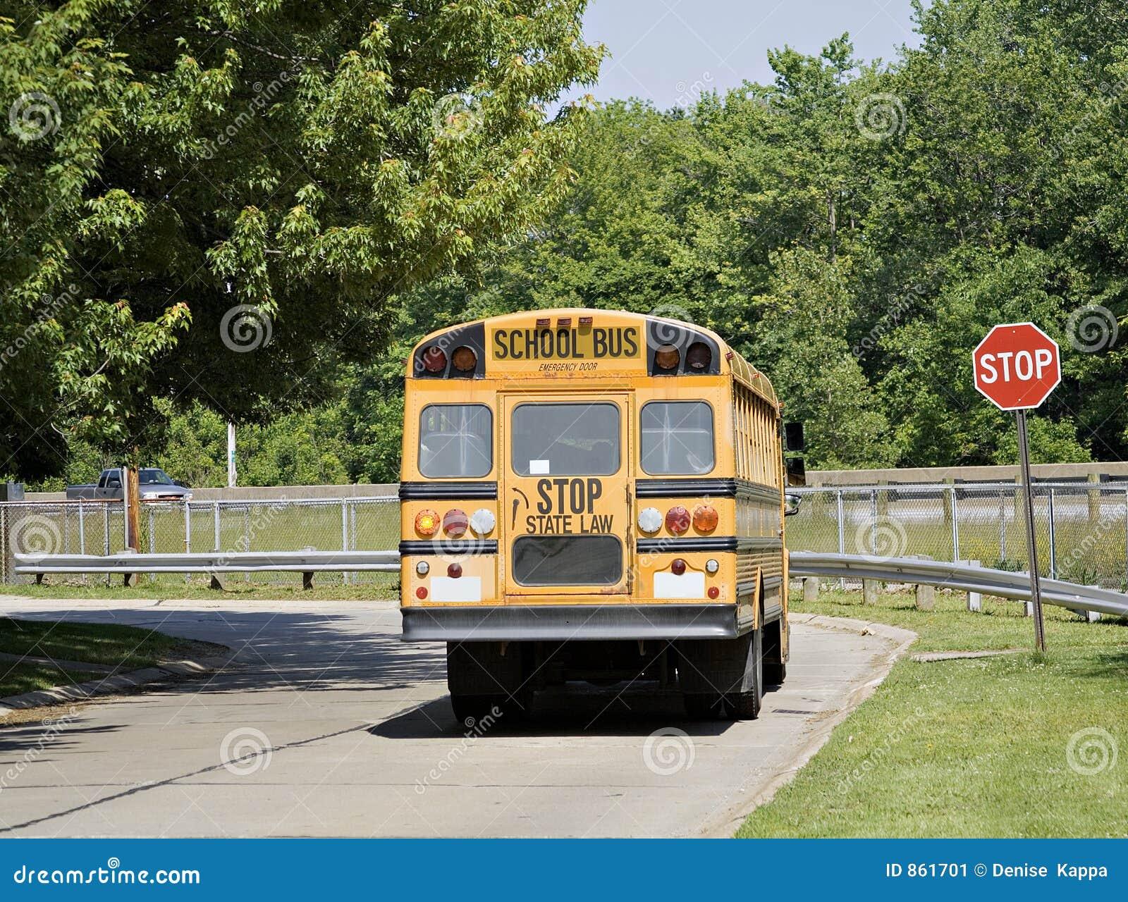 Bus road school