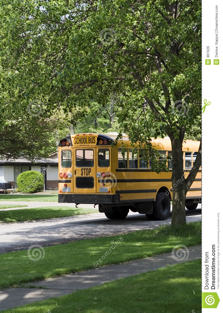 Bus route school