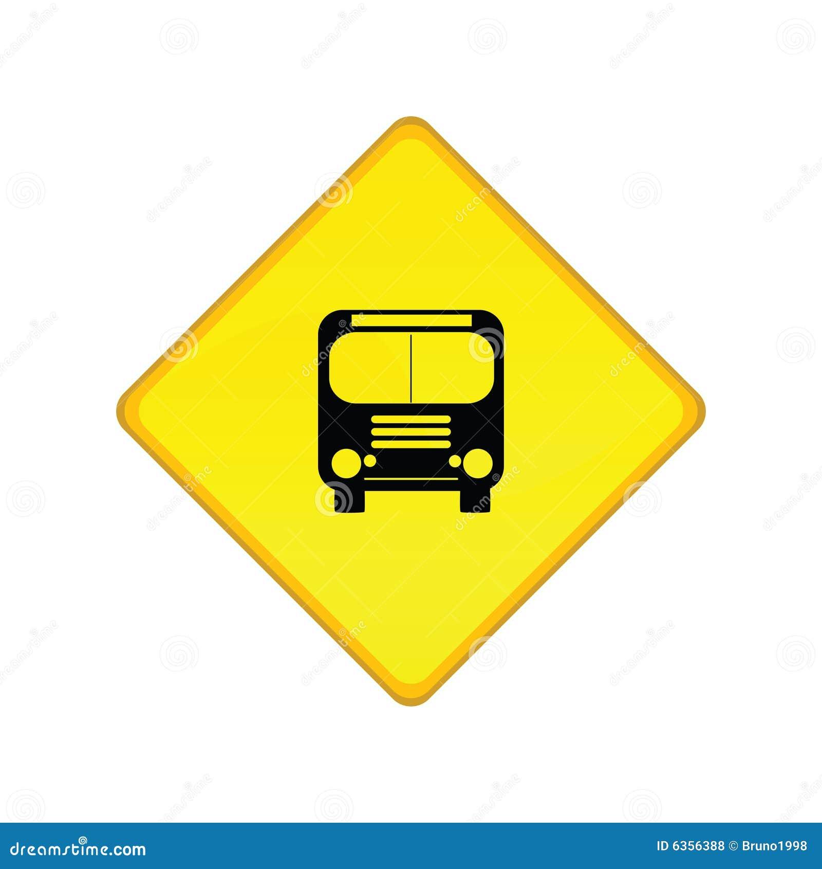 Bus Stop Sign Royalty Free Stock Photos Image 6356388
