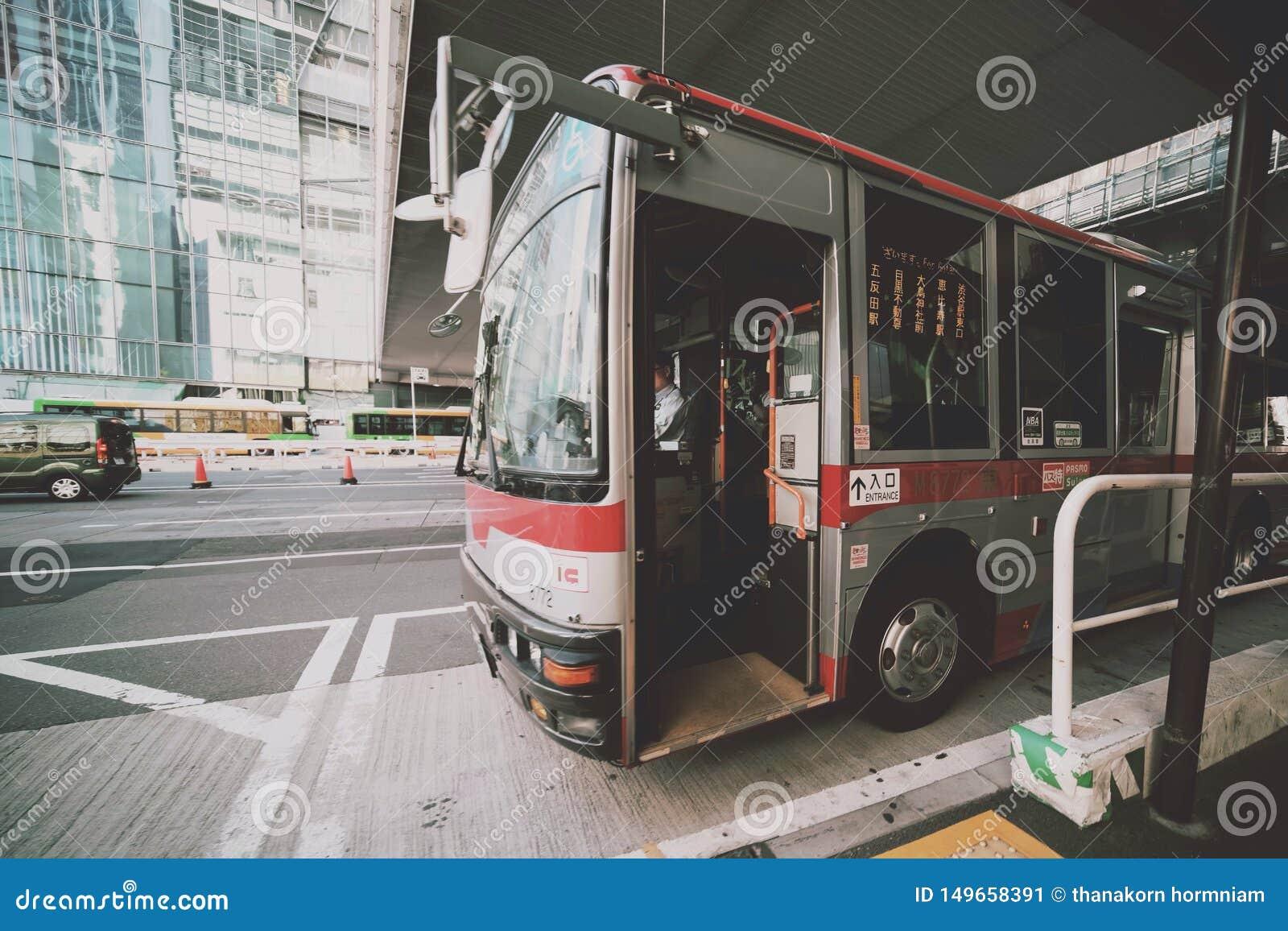 Bus in Tokyo