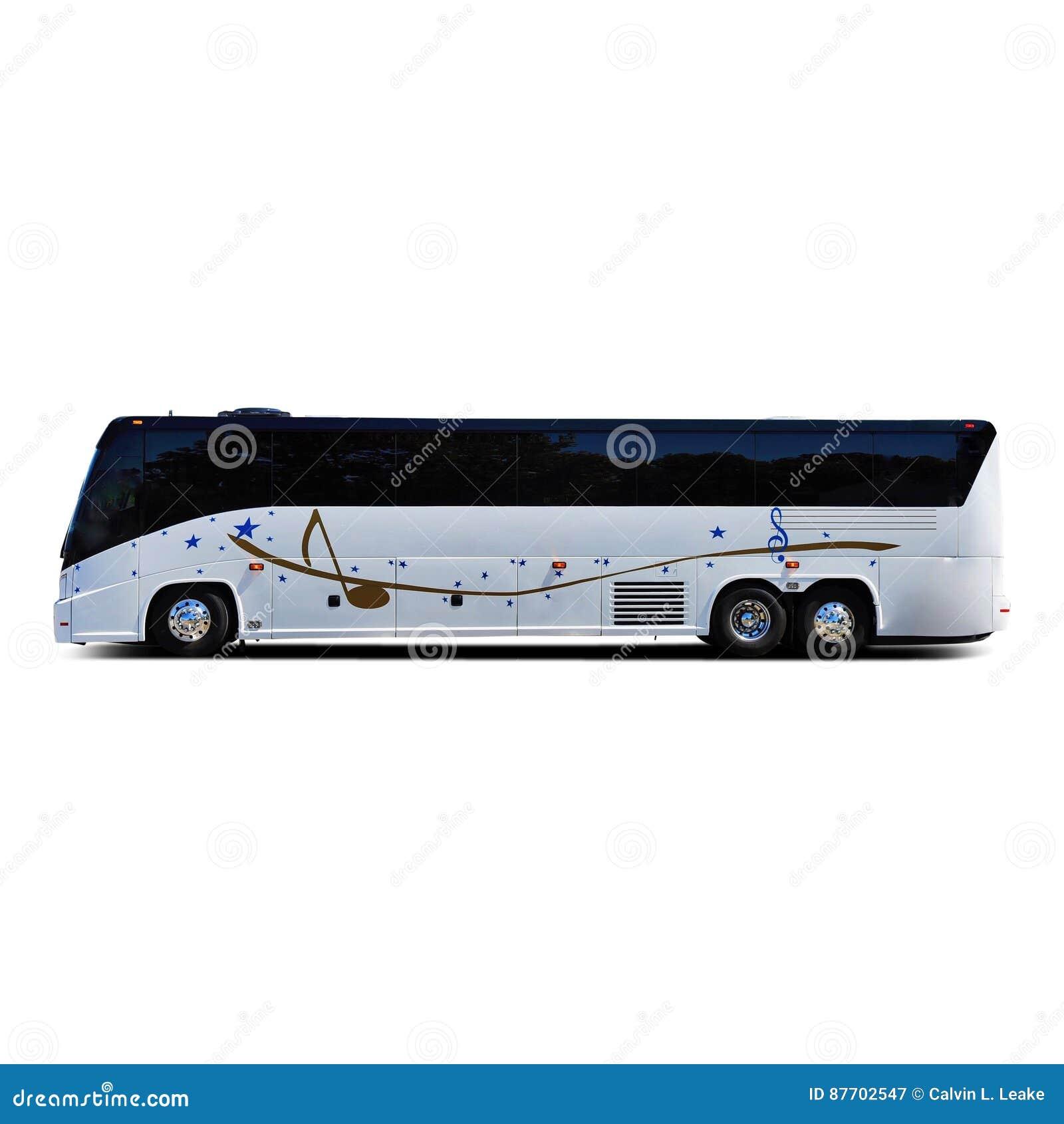 Bus touristique de bande de musique