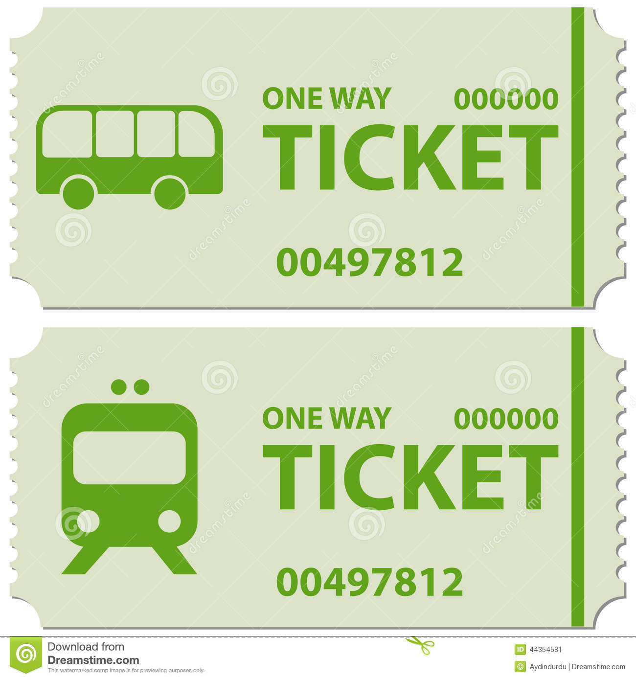 train ticket template word - bus and train tickets stock image image of railway green